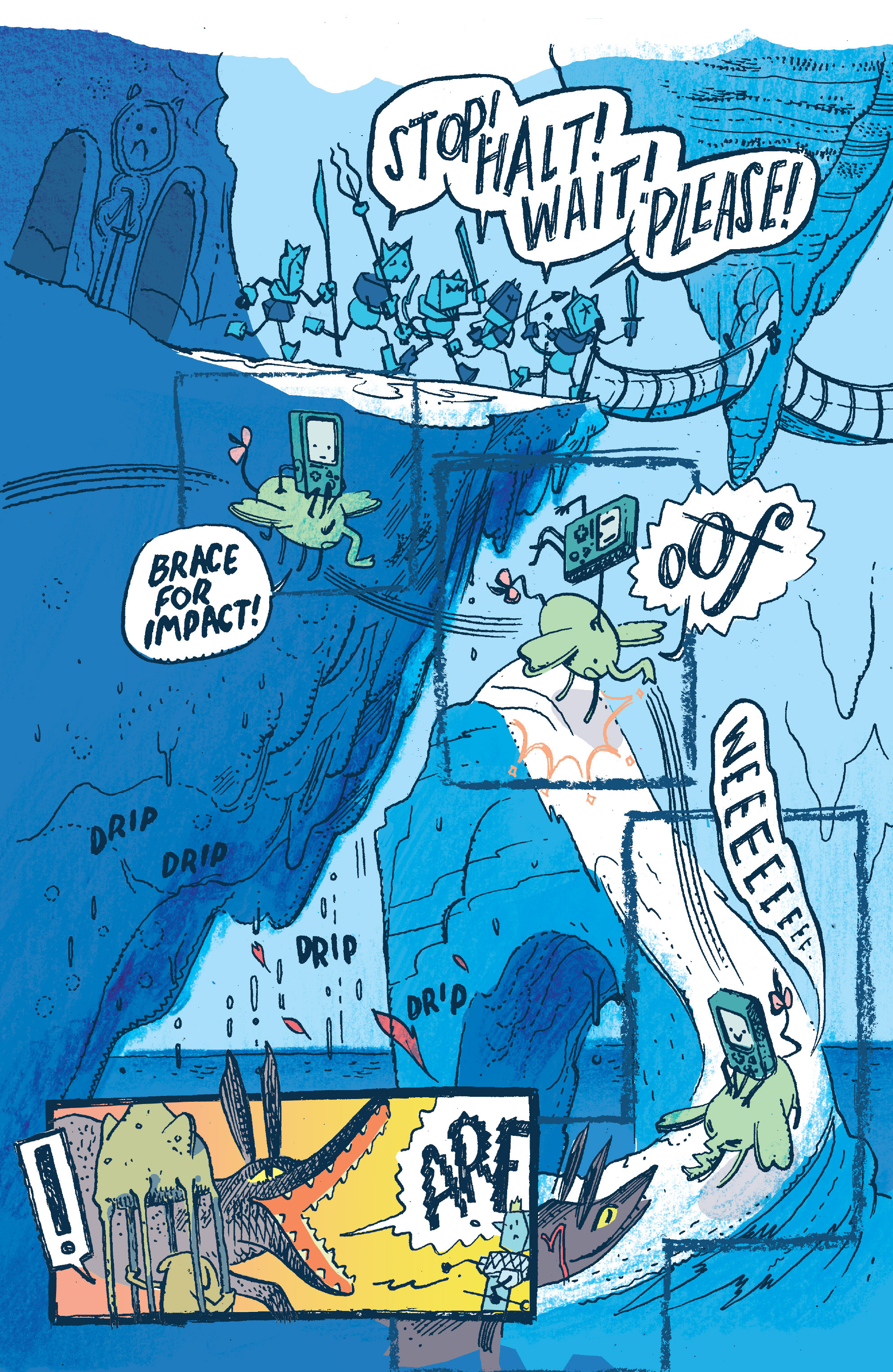 Read online Adventure Time 2014 Winter Special comic -  Issue #Adventure Time 2014 Winter Special Full - 18