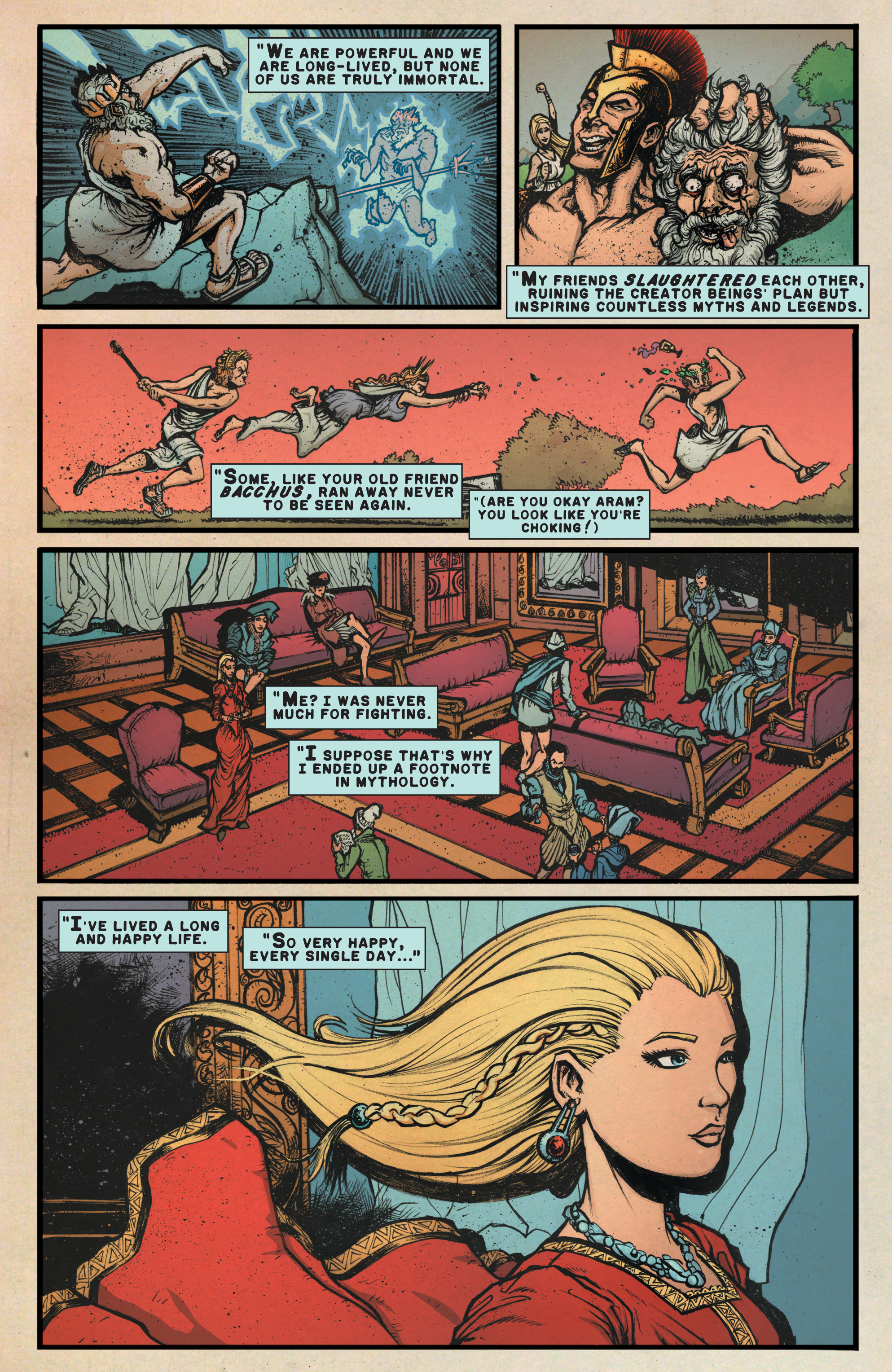 Read online A&A: The Adventures of Archer & Armstrong comic -  Issue #9 - 7