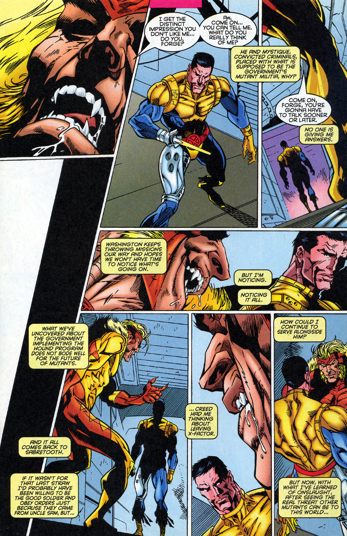Read online X-Factor (1986) comic -  Issue #126 - 12