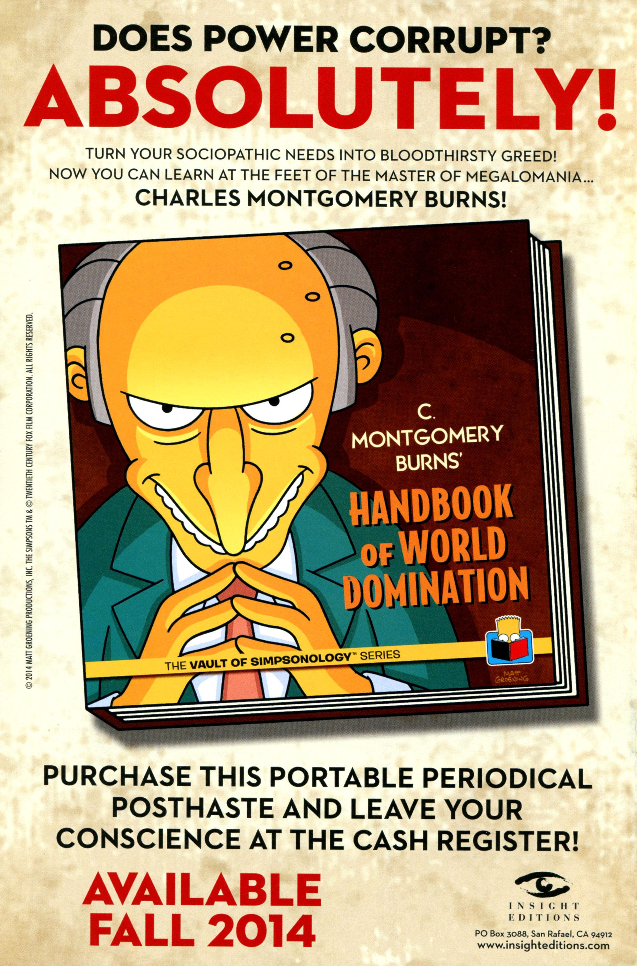 Read online Simpsons Comics comic -  Issue #212 - 32