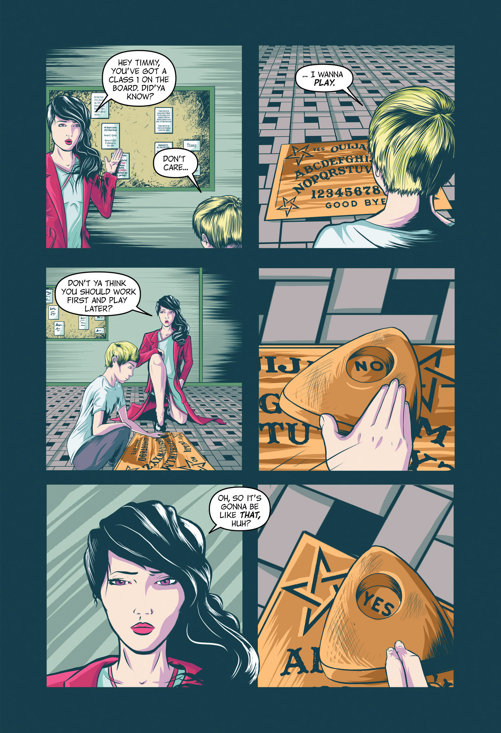 Read online Redemption Heights comic -  Issue # Full - 14