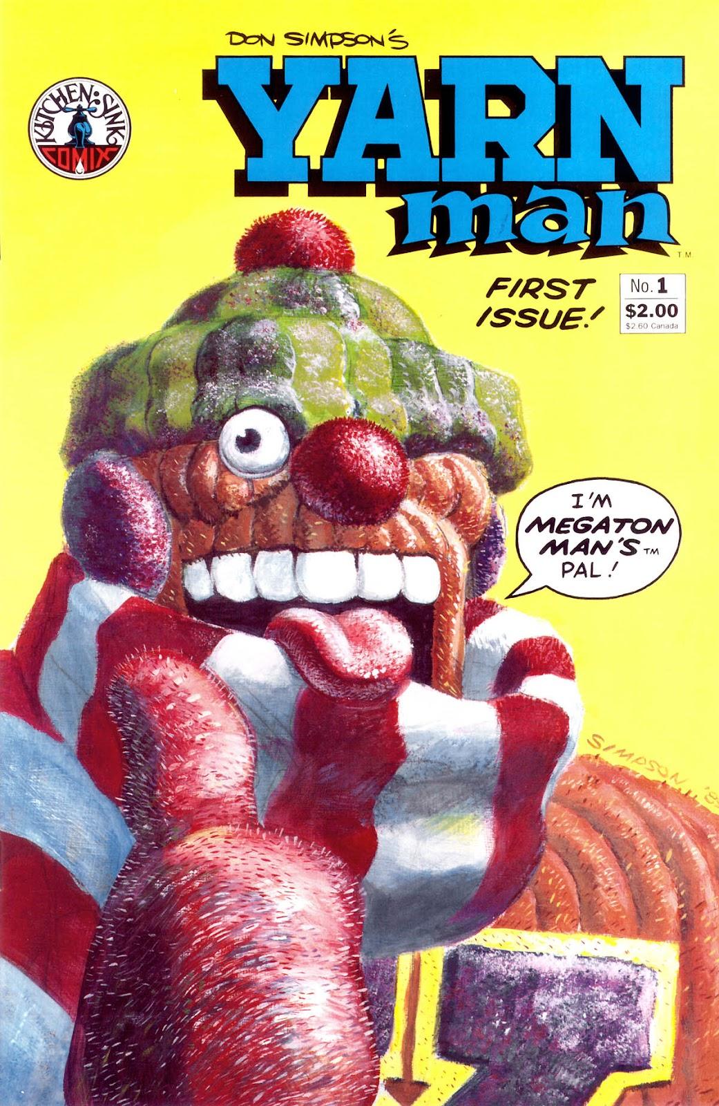 Yarn Man Full Page 1