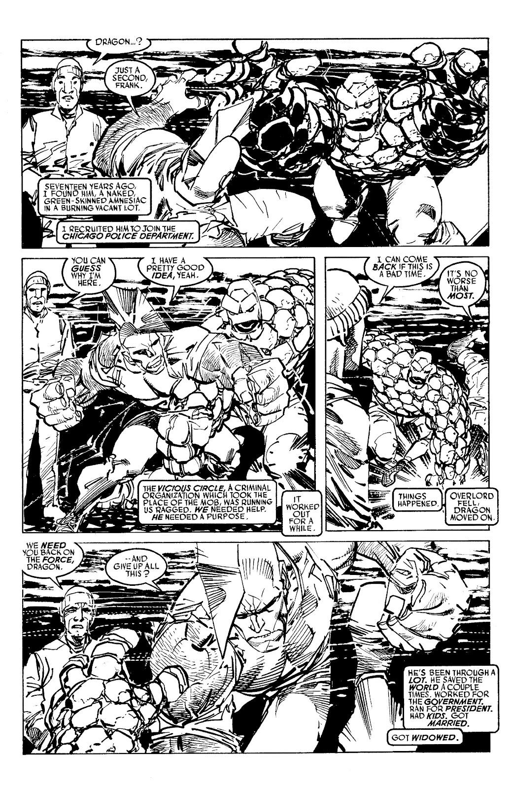 Read online Savage Dragon Archives comic -  Issue # TPB 6 (Part 4) - 77