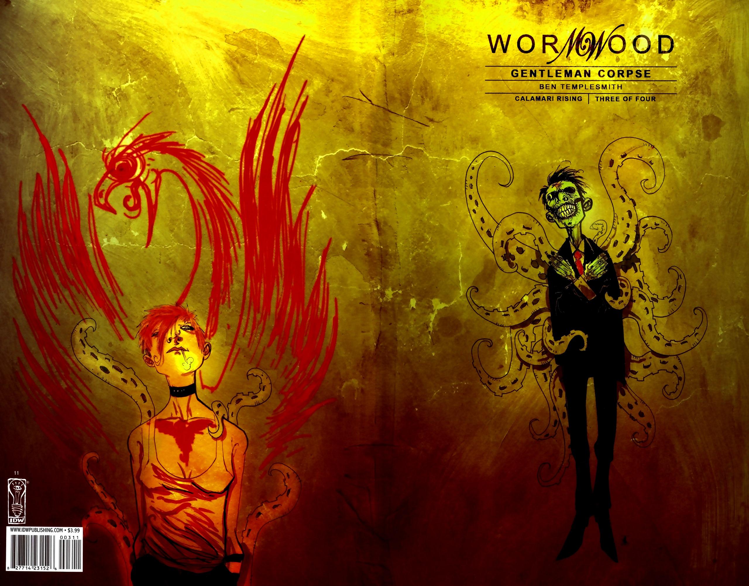 Read online Wormwood: Gentleman Corpse comic -  Issue #11 - 1