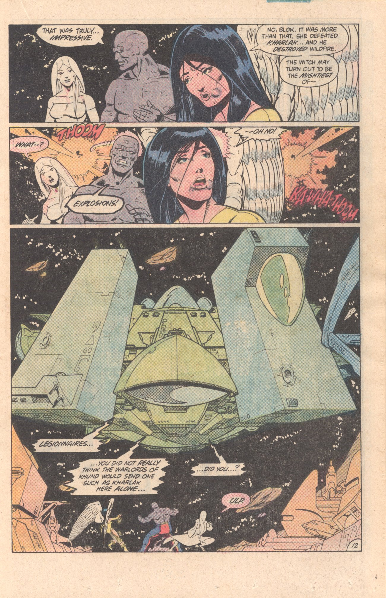 Legion of Super-Heroes (1980) 299 Page 12