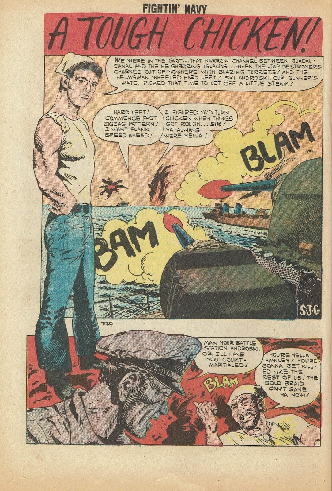 Read online Fightin' Navy comic -  Issue #97 - 20