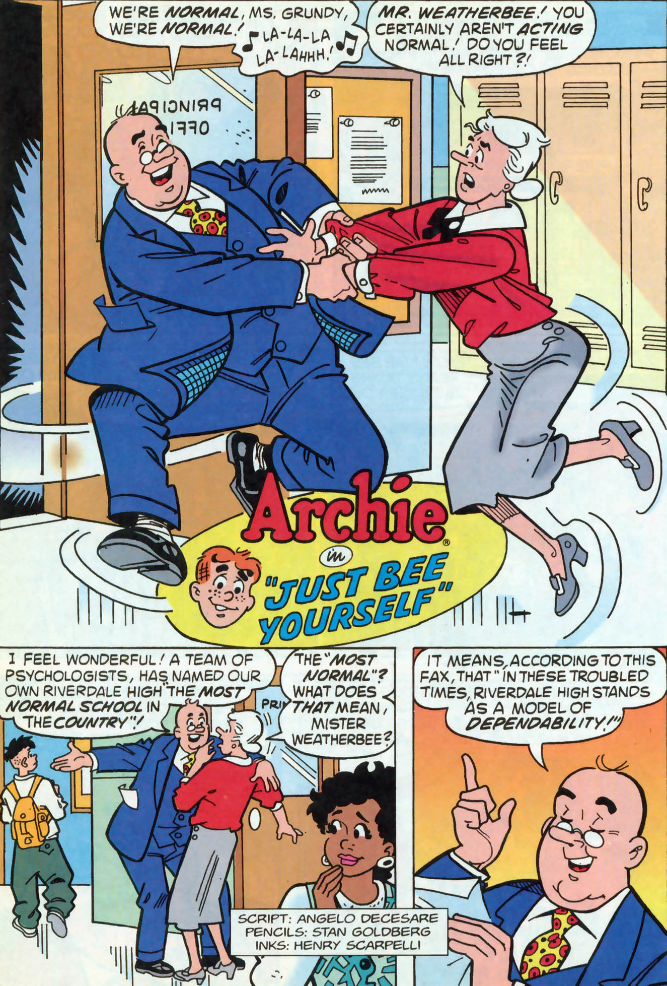 Read online Archie (1960) comic -  Issue #466 - 9