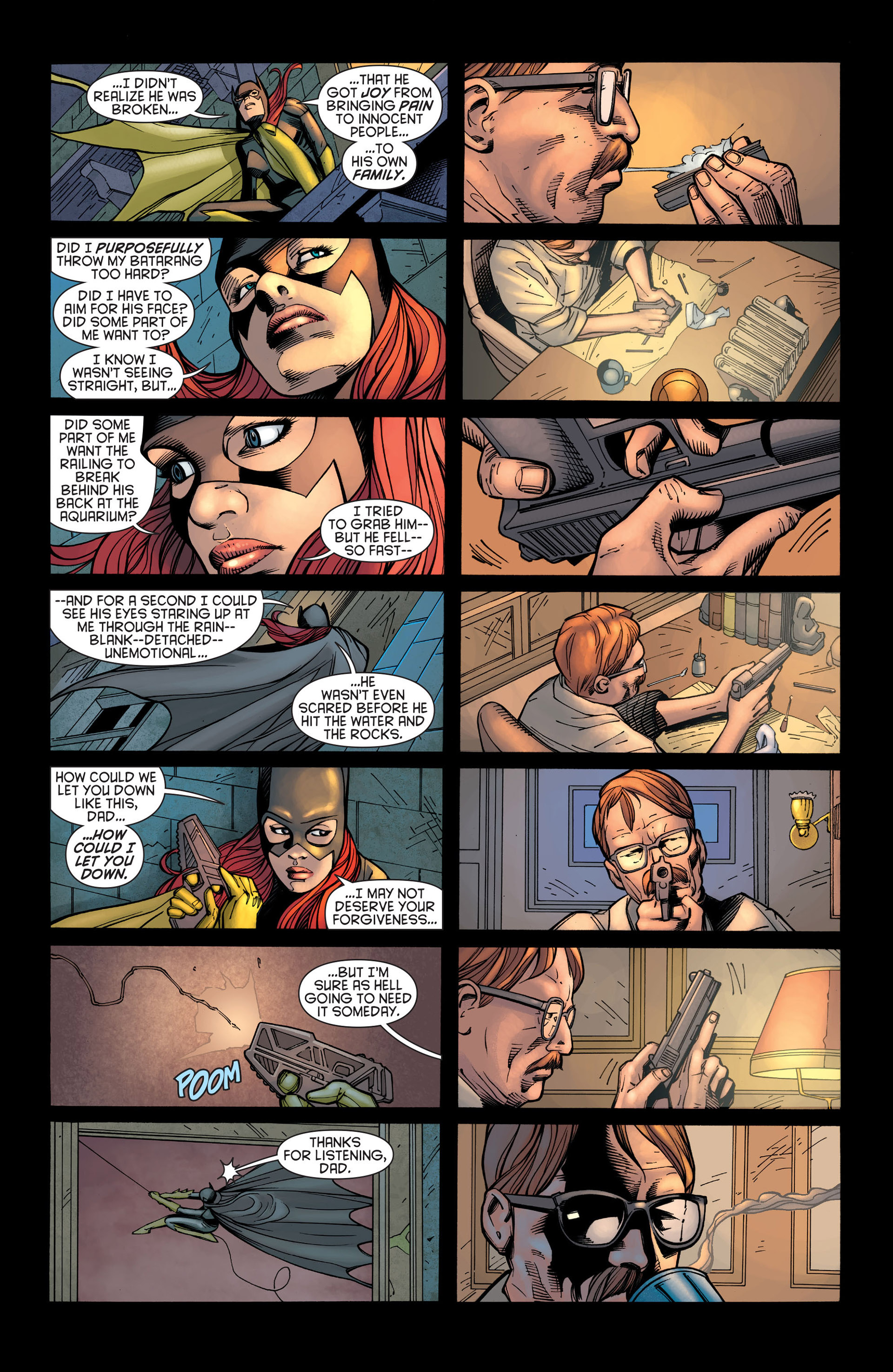 Read online Batman and Robin (2011) comic -  Issue #21 - Batman and Batgirl - 7