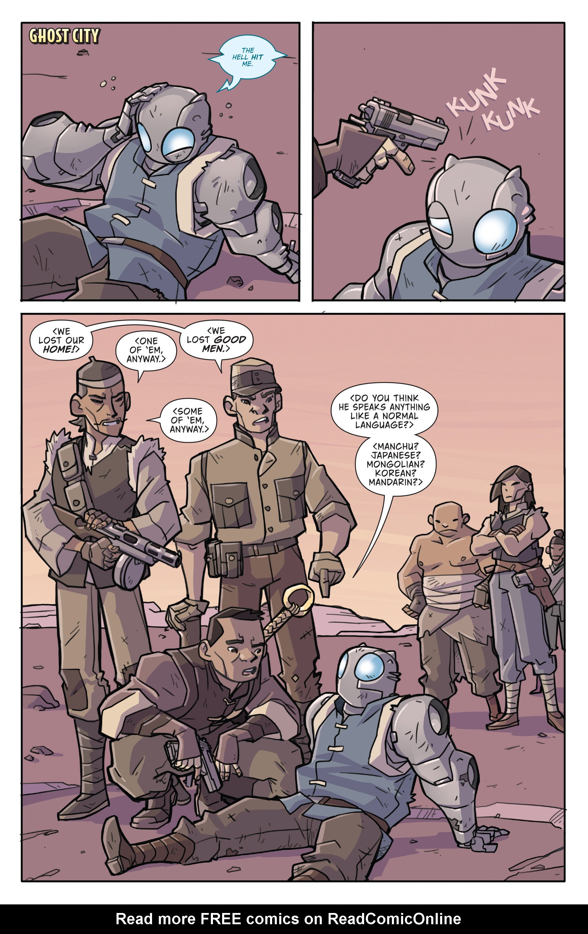 Read online Atomic Robo and the Temple of Od comic -  Issue #4 - 8