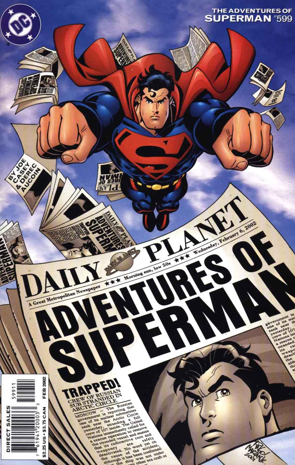 Read online Adventures of Superman (1987) comic -  Issue #599 - 1