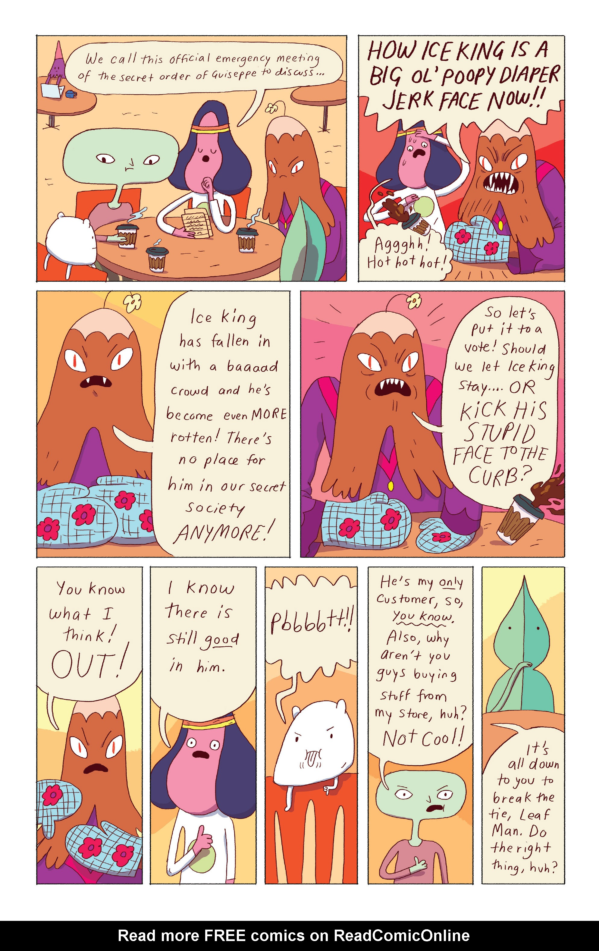Read online Adventure Time: Ice King comic -  Issue #3 - 18