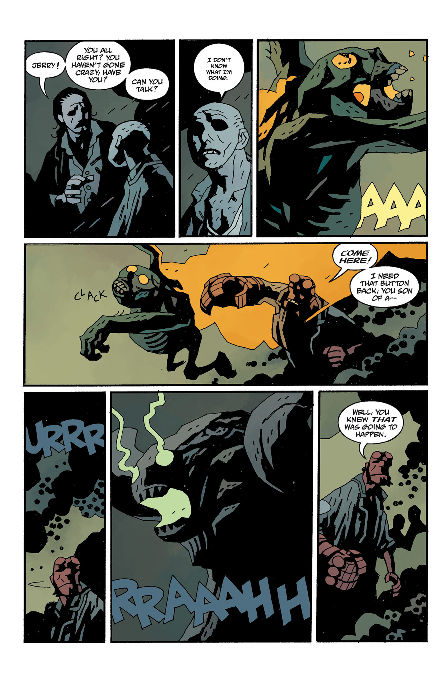 Read online Hellboy: The Crooked Man and Others comic -  Issue # TPB - 126