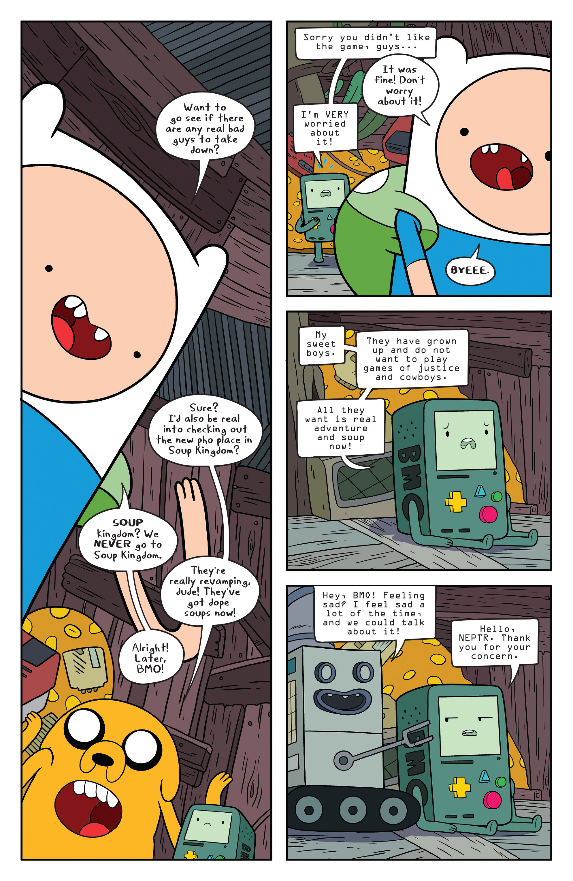 Read online Adventure Time comic -  Issue #56 - 6