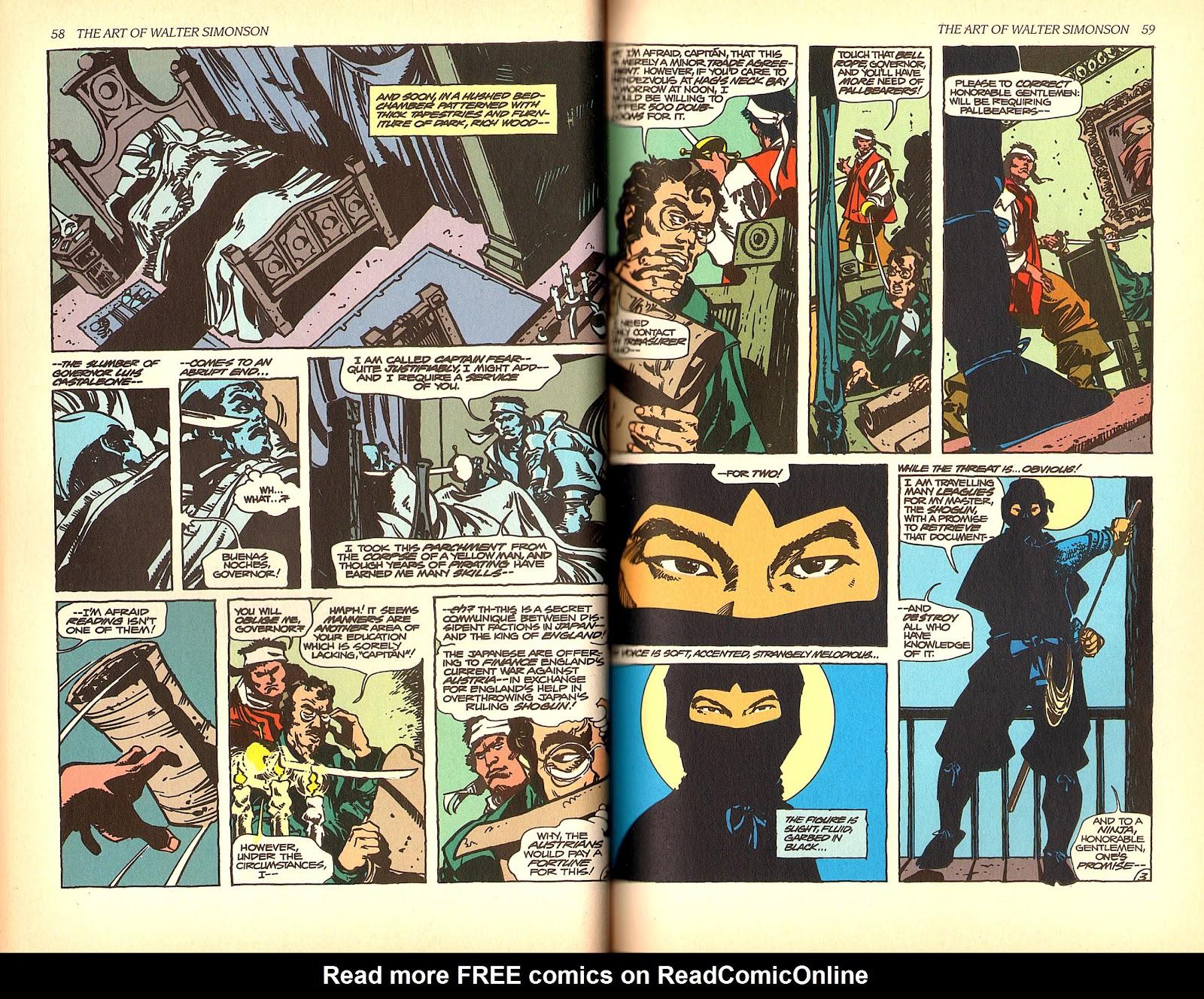 Read online The Art of Walter Simonson comic -  Issue # TPB - 31