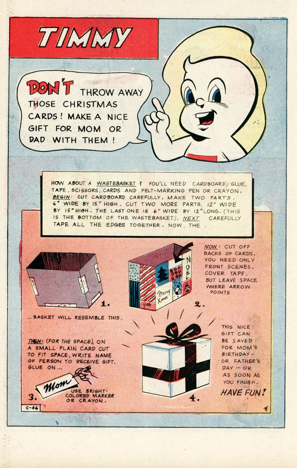 Read online Timmy the Timid Ghost comic -  Issue #10 - 26