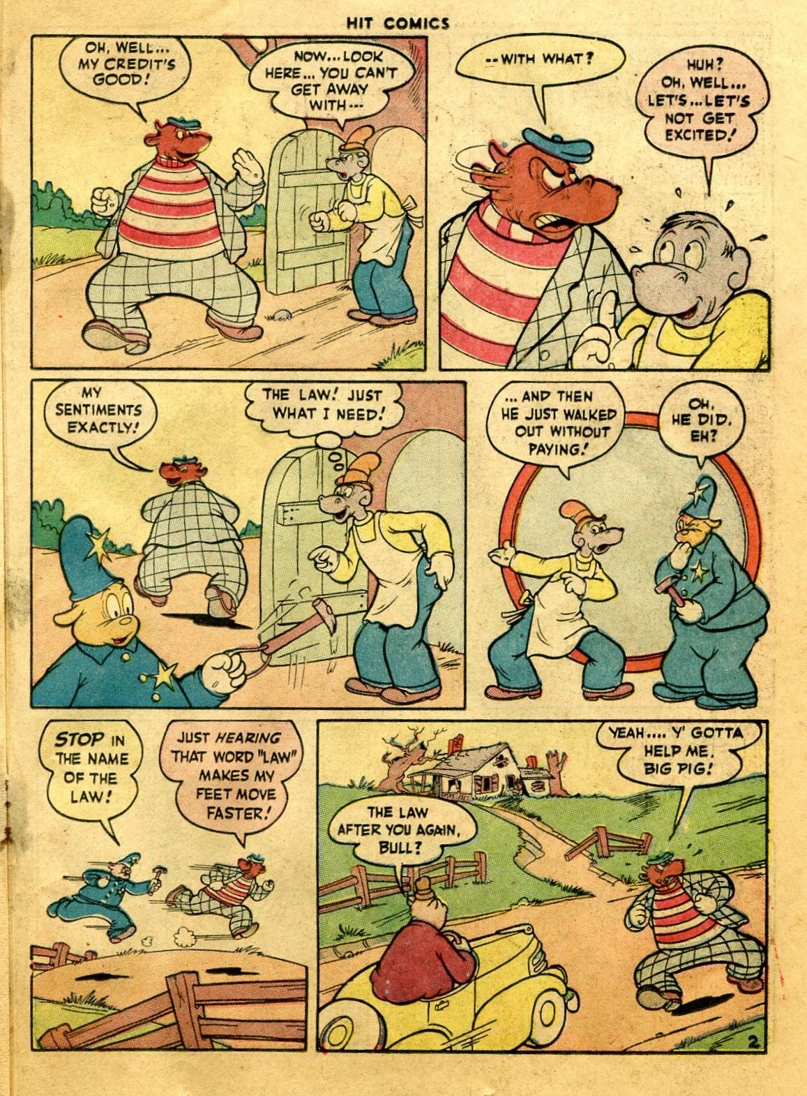 Read online Hit Comics comic -  Issue #44 - 39