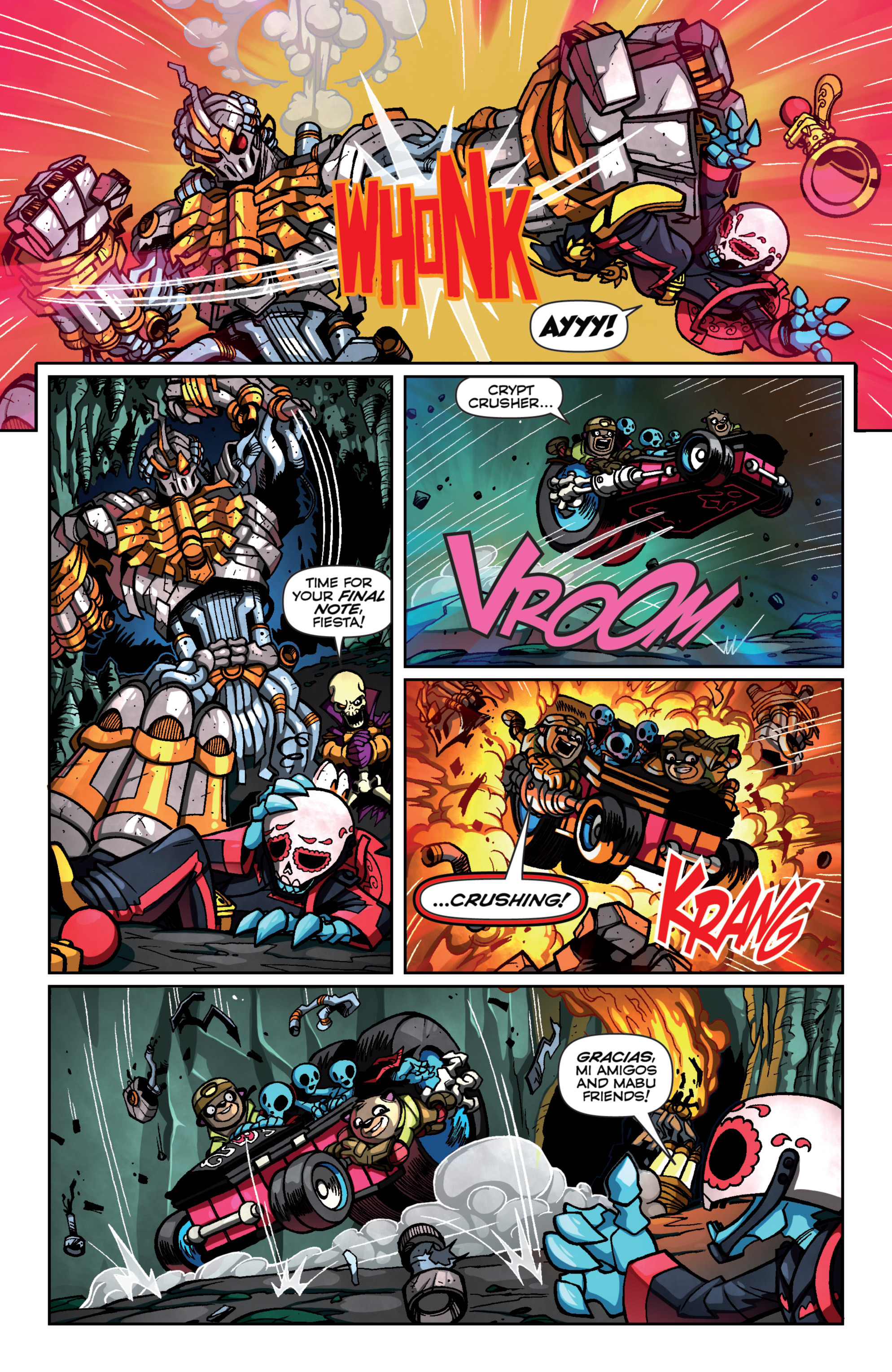 Read online Skylanders Superchargers comic -  Issue #4 - 17