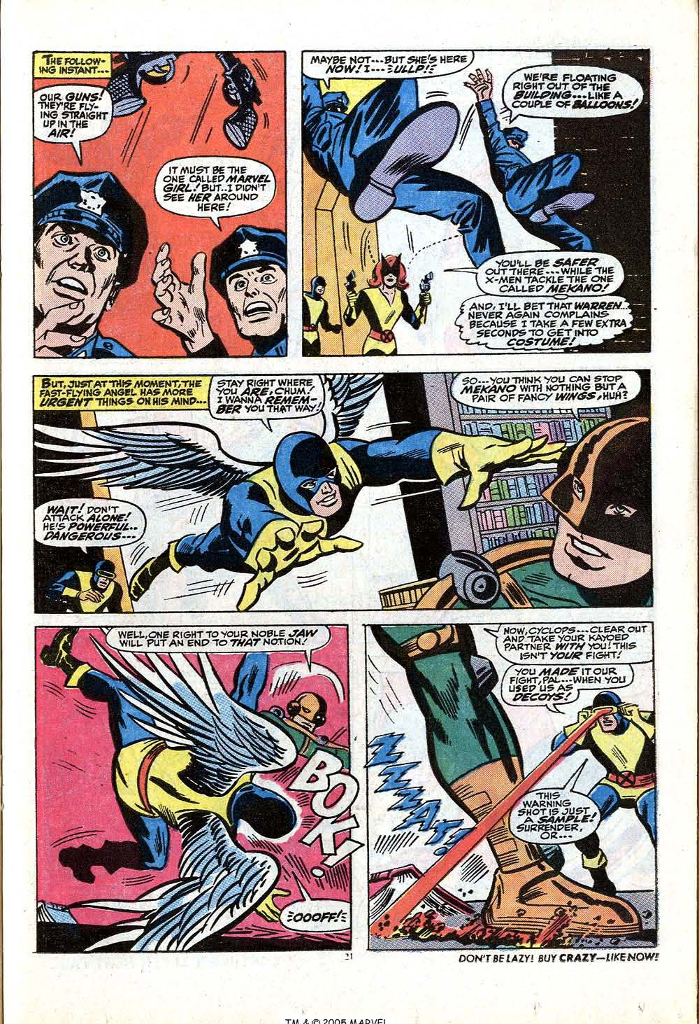 Read online Uncanny X-Men (1963) comic -  Issue #84 - 23