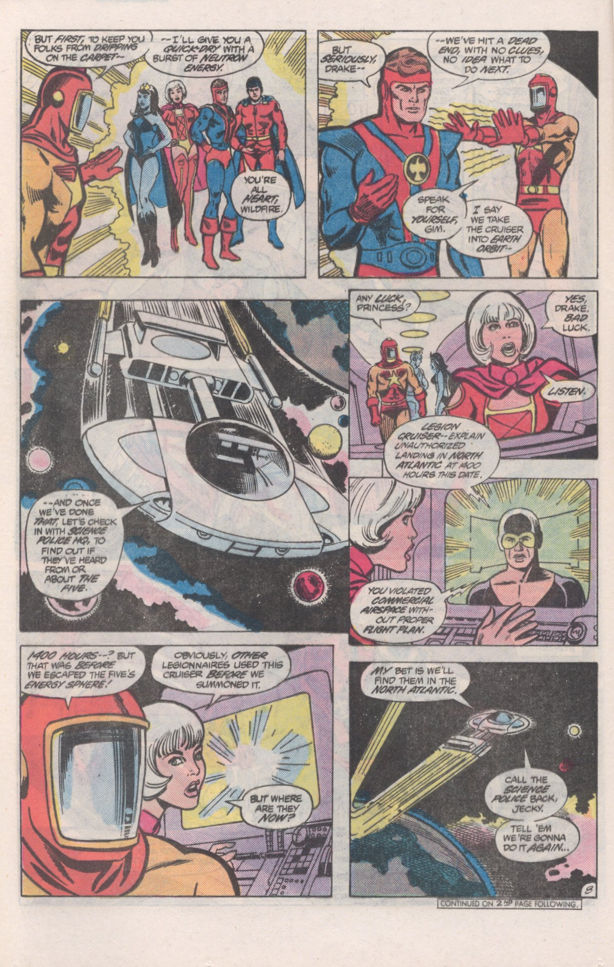 Legion of Super-Heroes (1980) 271 Page 8