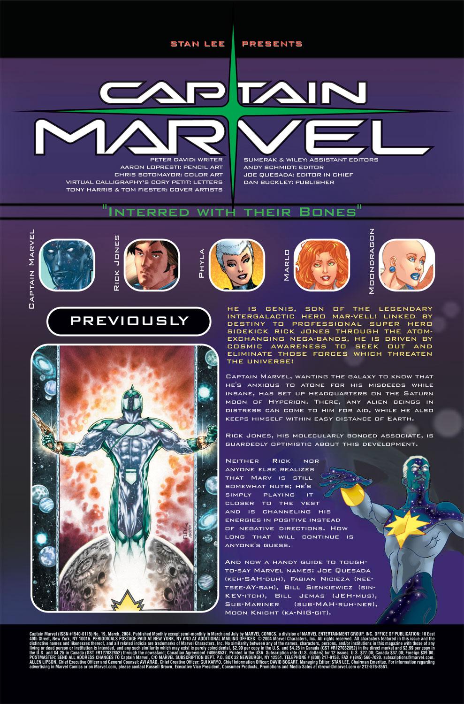 Captain Marvel (2002) Issue #19 #19 - English 2