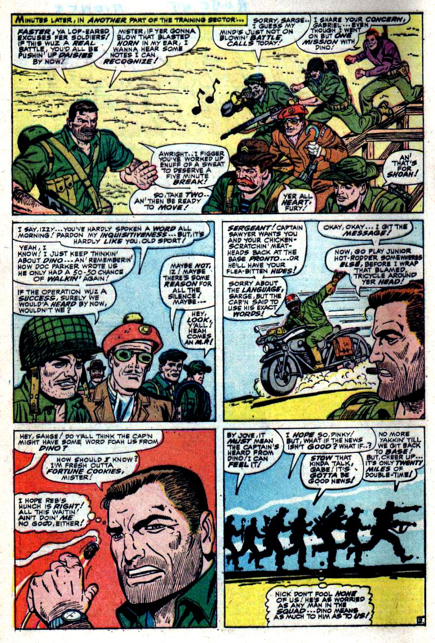 Read online Sgt. Fury comic -  Issue #40 - 4