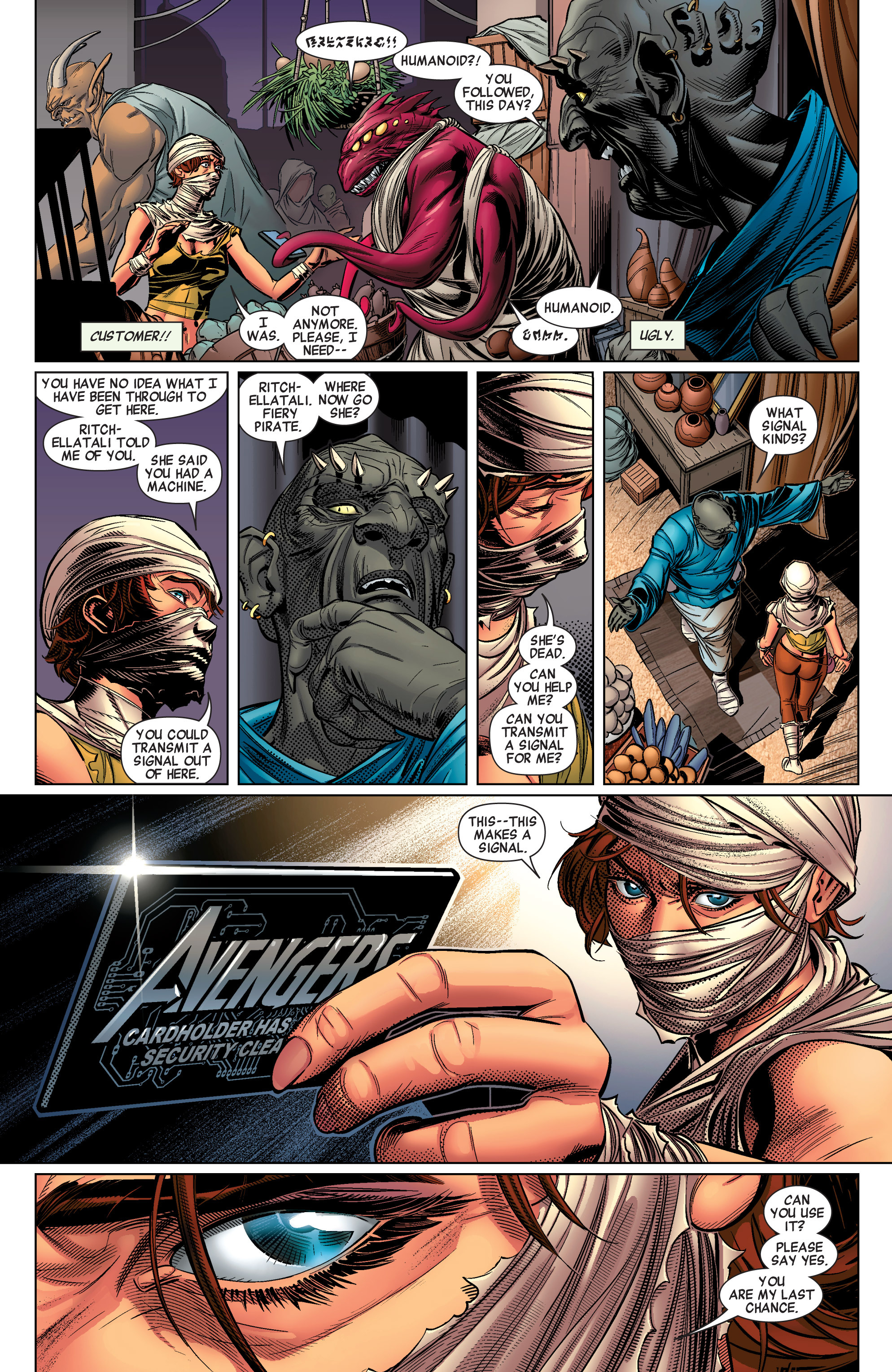 Read online Avengers (2010) comic -  Issue #31 - 17