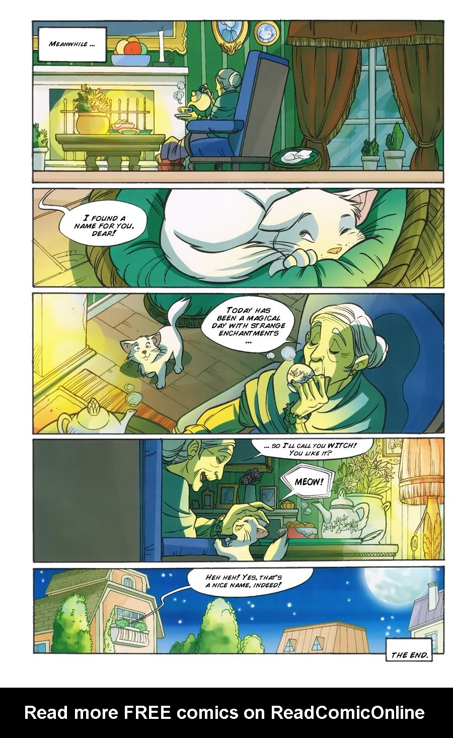W.i.t.c.h. 100 Page 44
