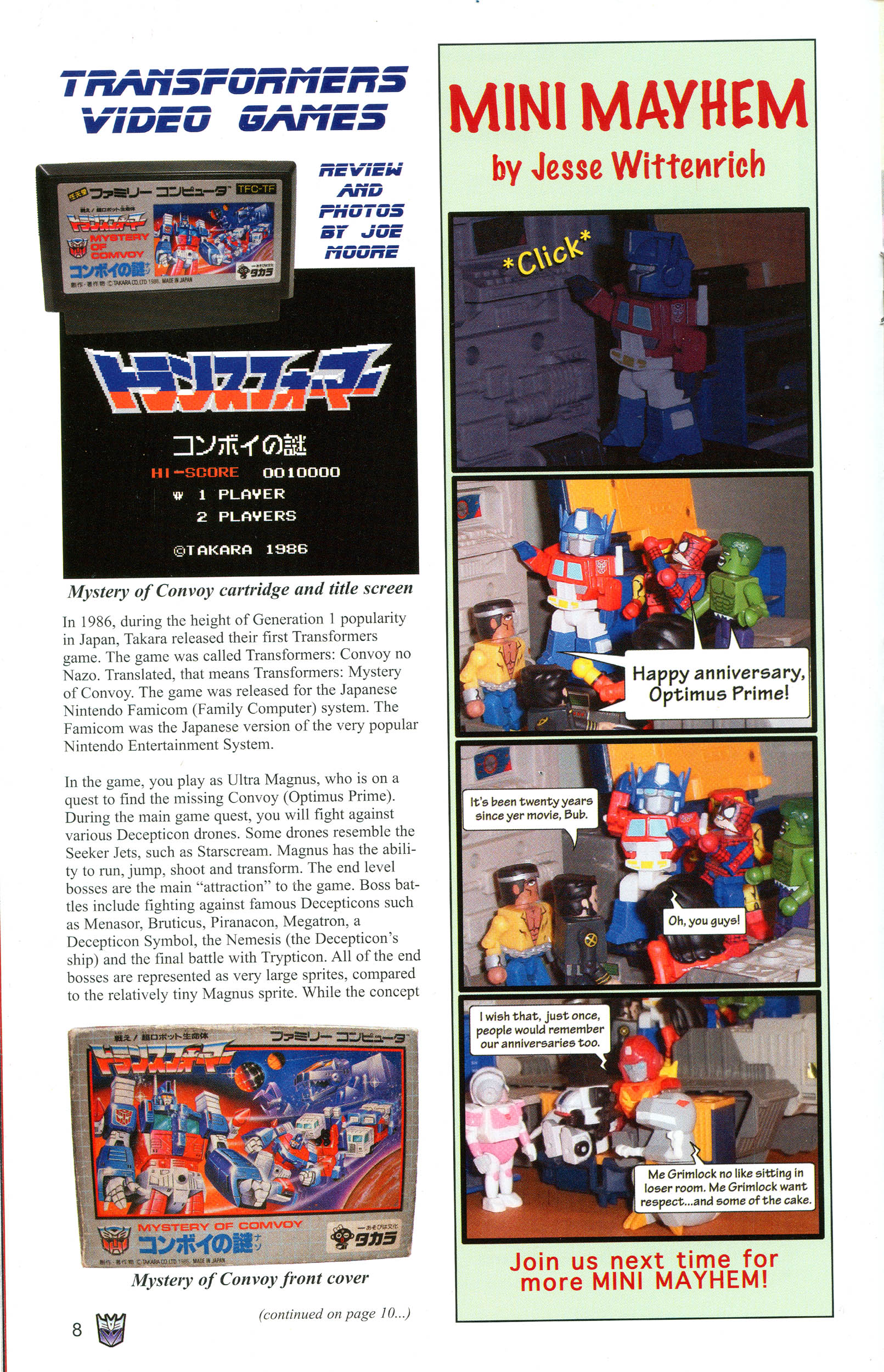 Read online Transformers: Collectors' Club comic -  Issue #11 - 8