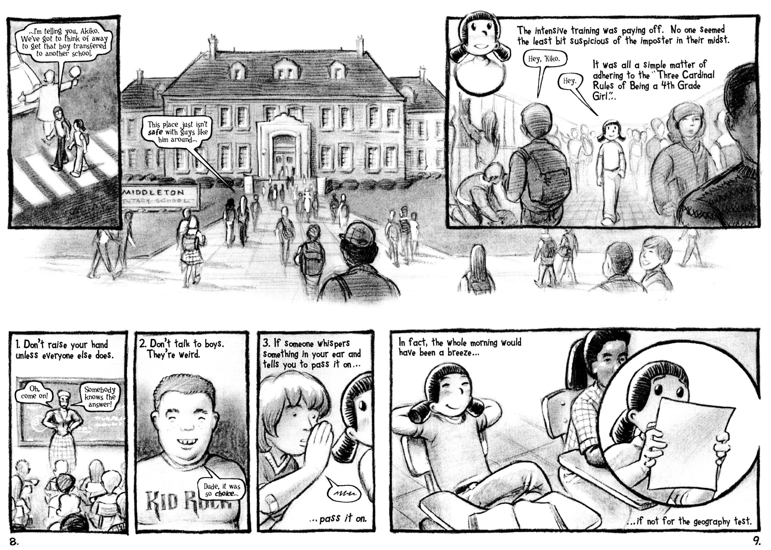 Read online Akiko comic -  Issue #48 - 7