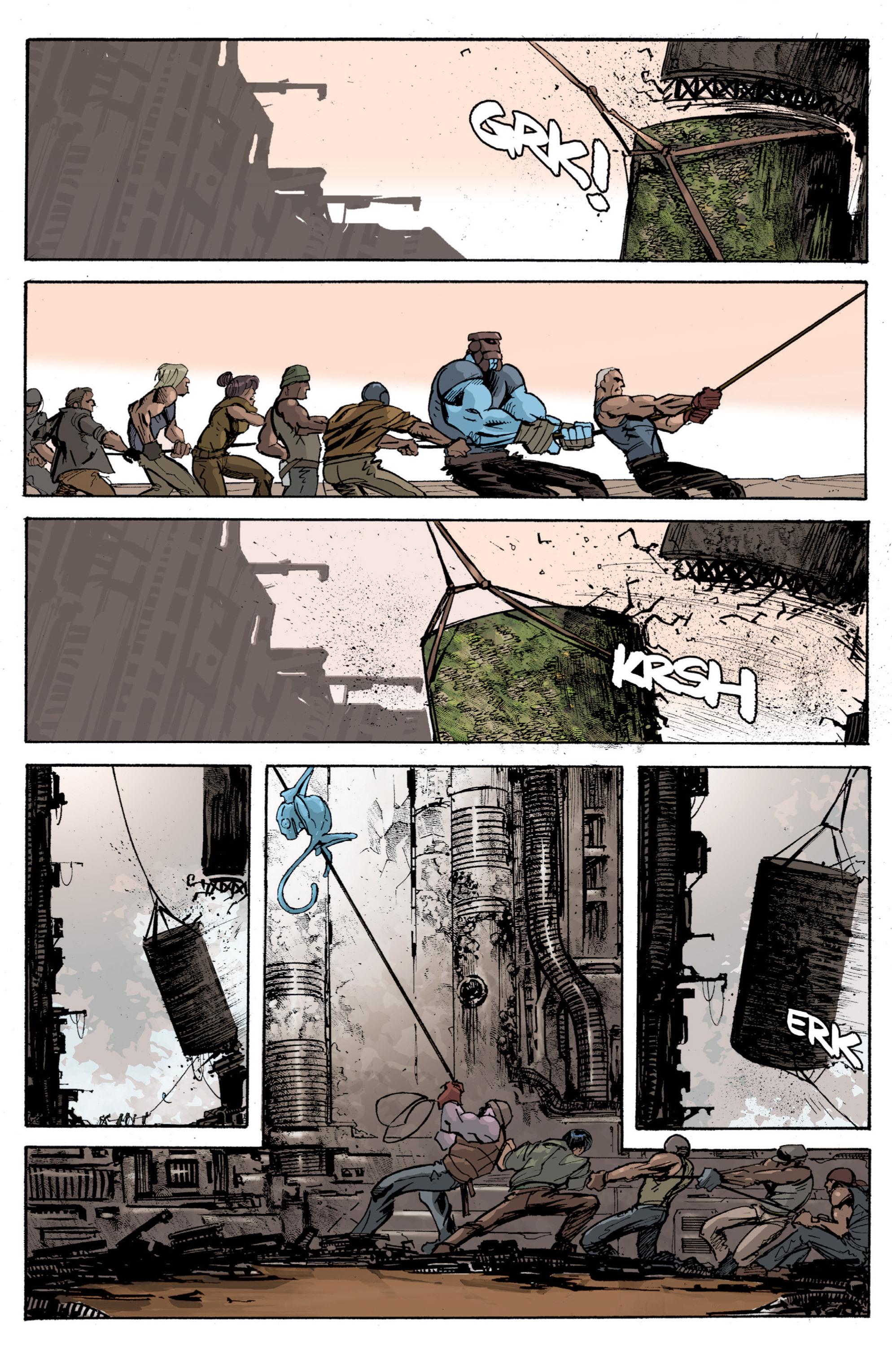 Read online Planetoid comic -  Issue # TPB - 96