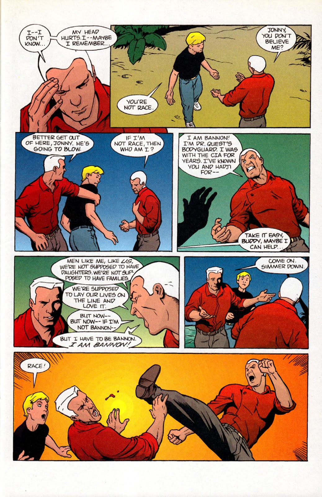 Read online The Real Adventures of Jonny Quest comic -  Issue #7 - 29