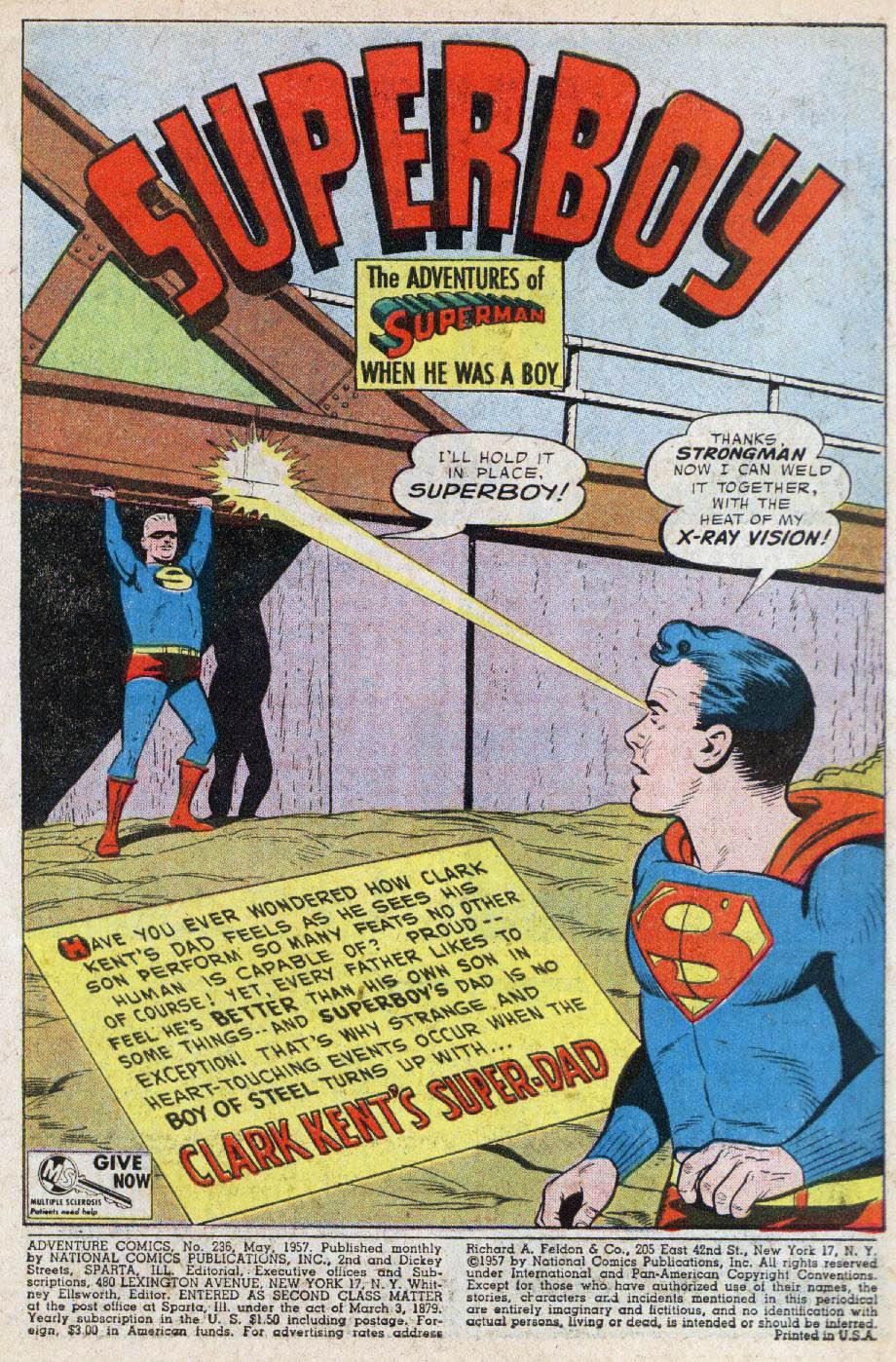 Read online Adventure Comics (1938) comic -  Issue #236 - 3