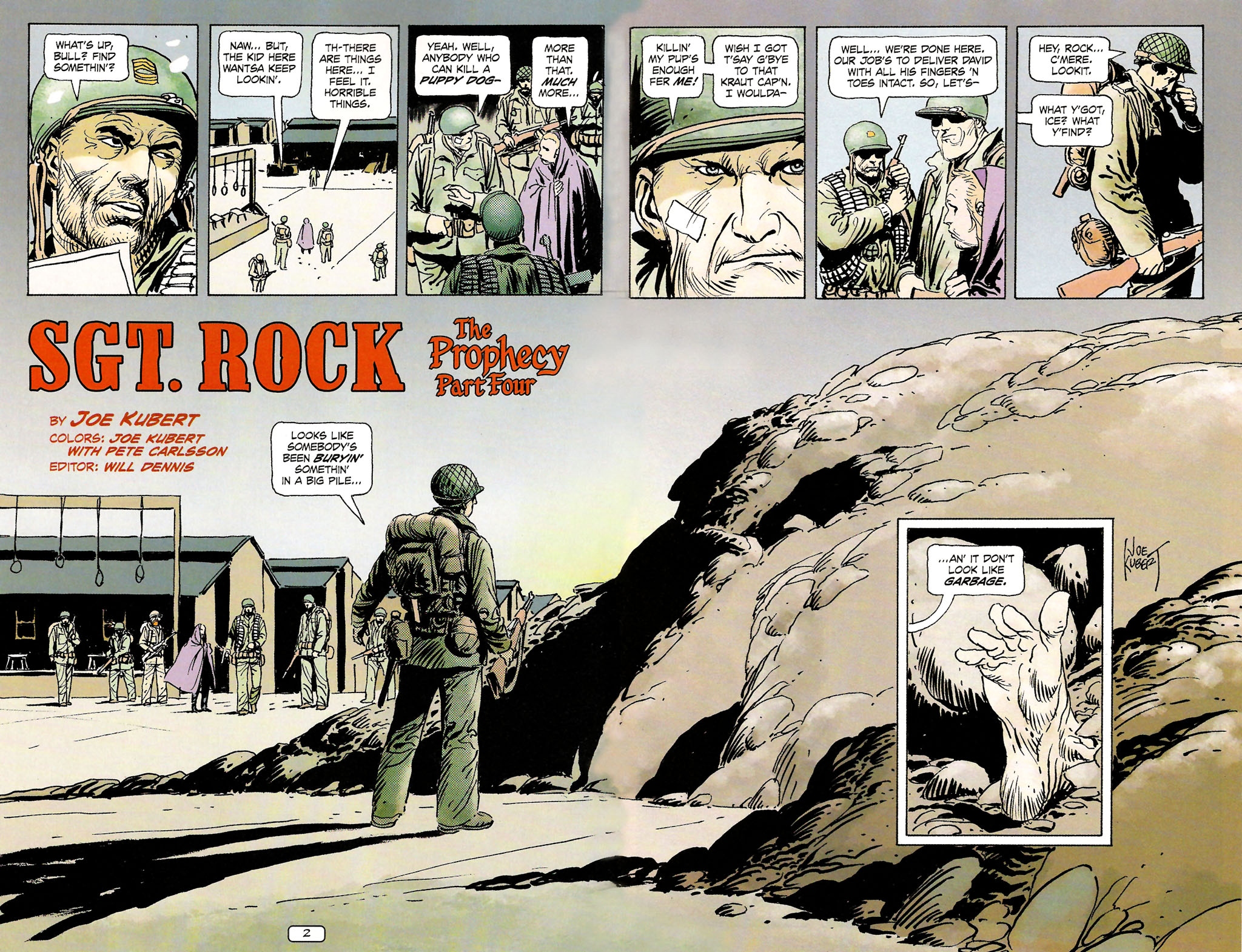 Read online Sgt. Rock: The Prophecy comic -  Issue #4 - 3