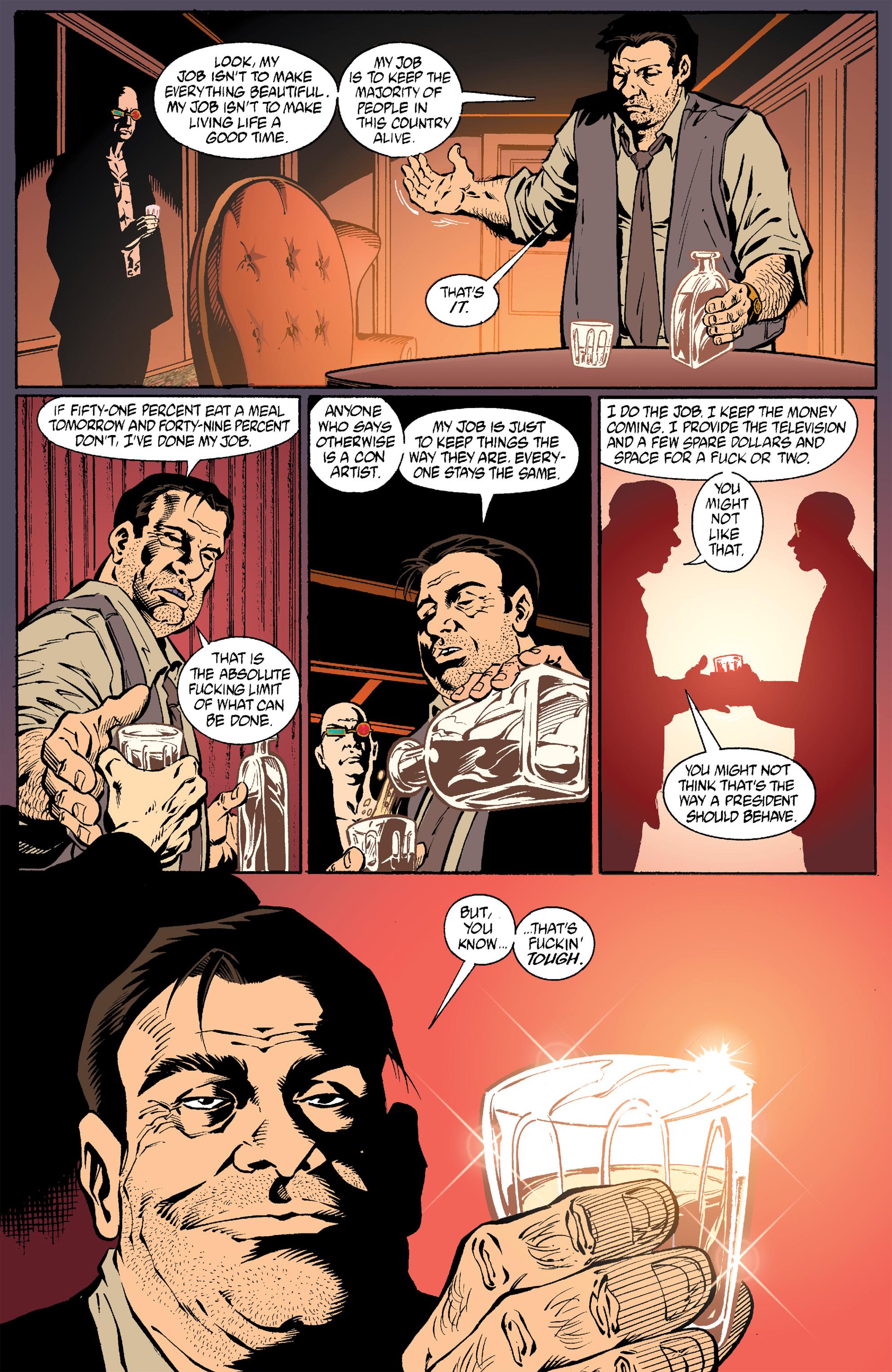 Read online Transmetropolitan comic -  Issue #21 - 20