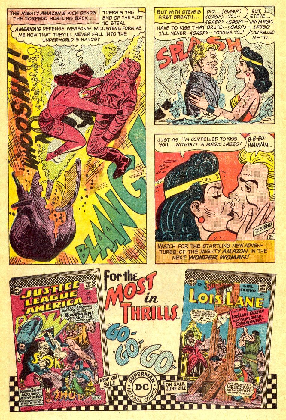 Read online Wonder Woman (1942) comic -  Issue #164 - 32