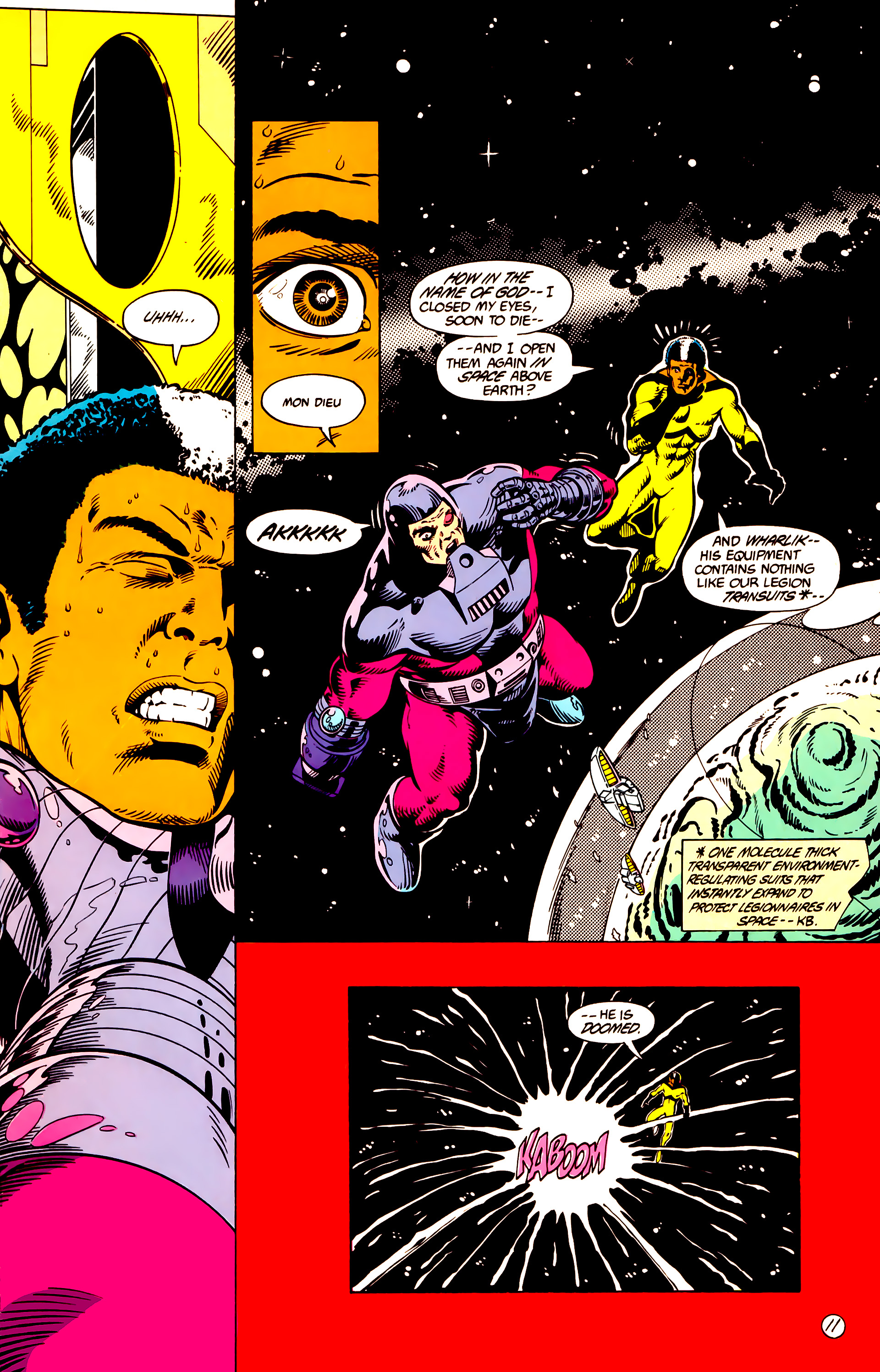 Legion of Super-Heroes (1984) 10 Page 12