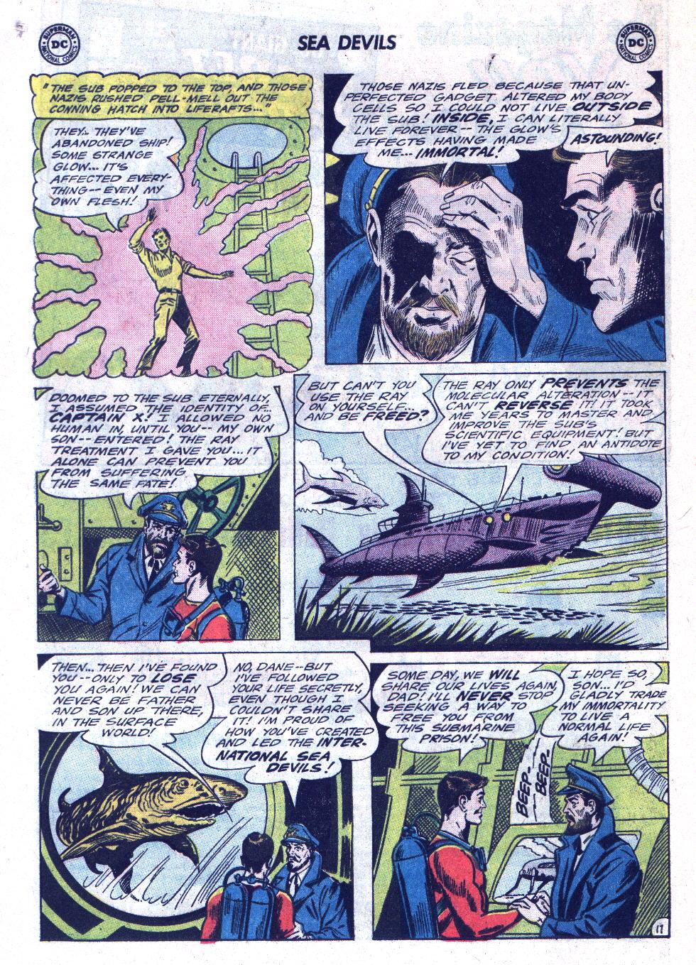 Read online Sea Devils comic -  Issue #22 - 24
