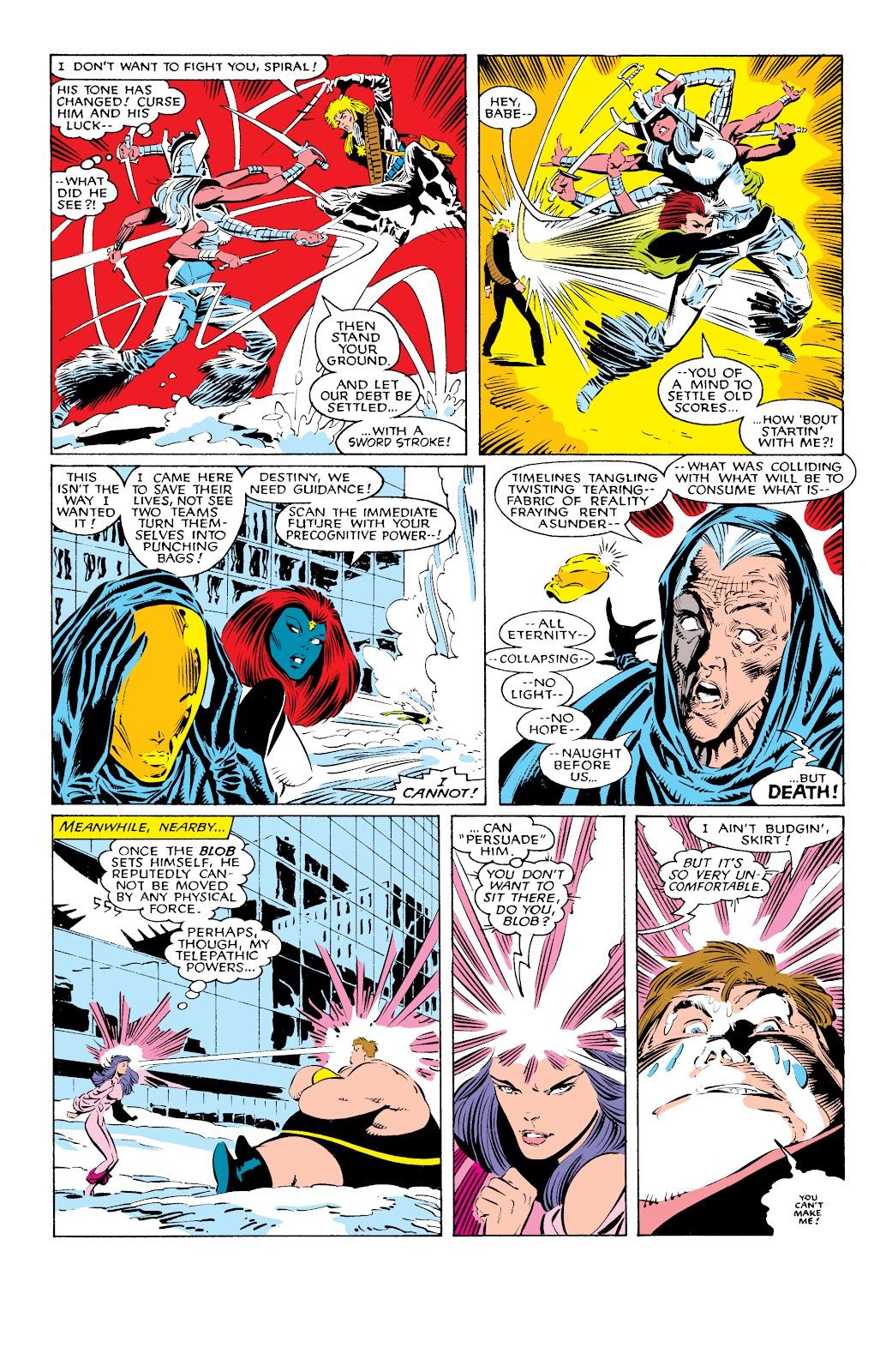 Read online X-Men Milestones: Fall of the Mutants comic -  Issue # TPB (Part 1) - 22