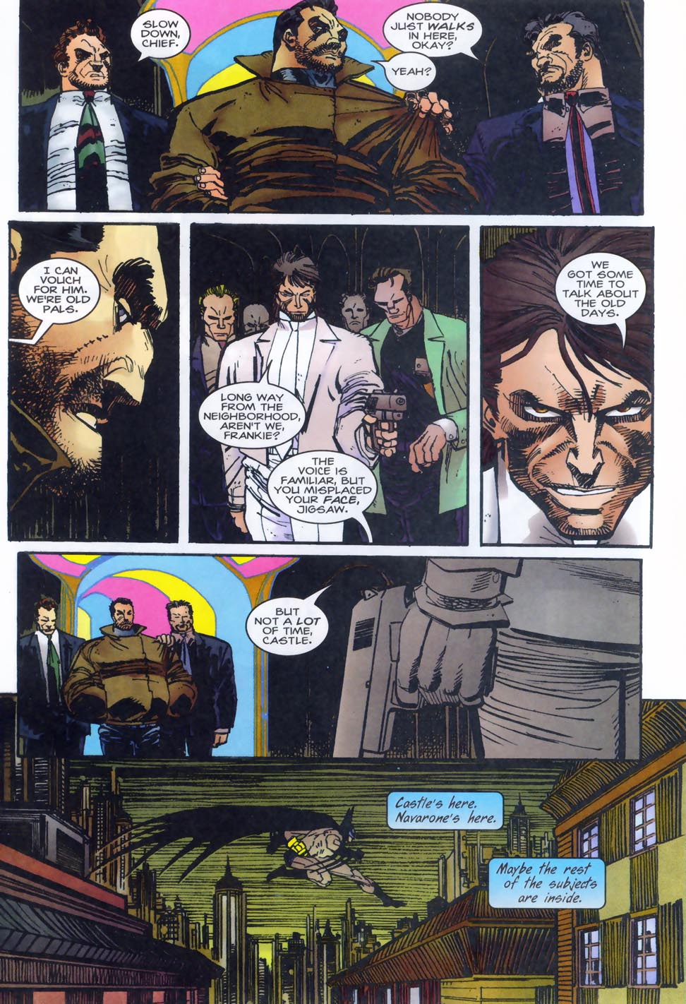 Read online Punisher/Batman: Deadly Knights comic -  Issue # Full - 24