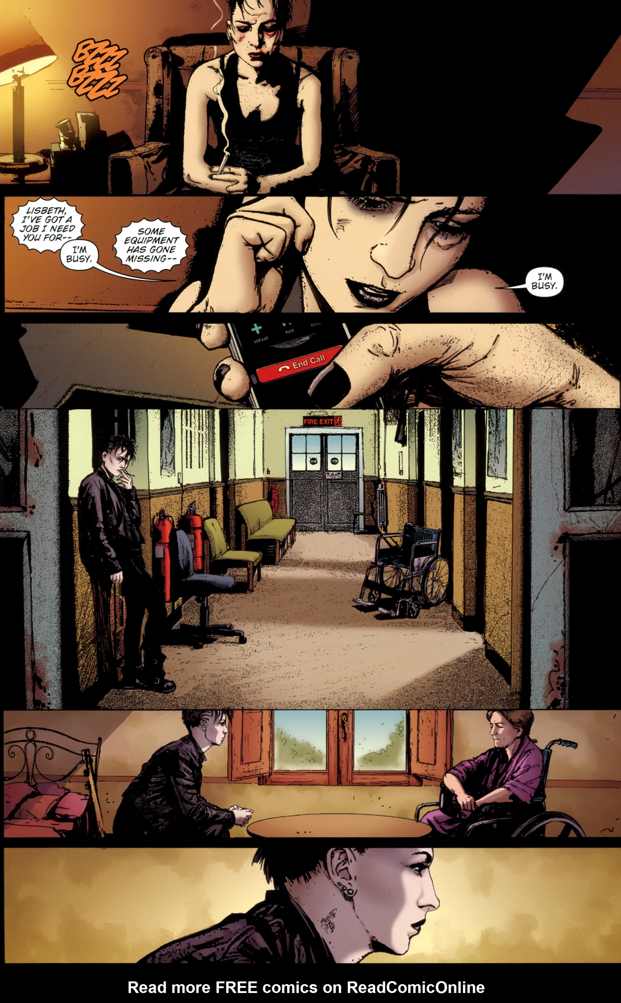 Read online The Girl With the Dragon Tattoo comic -  Issue # TPB 1 - 130