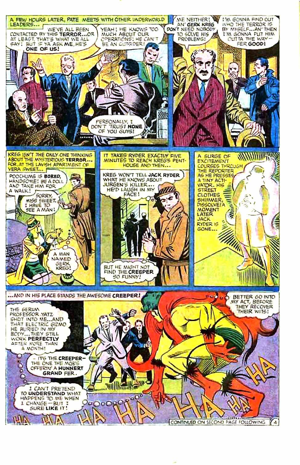 Beware The Creeper (1968) issue 1 - Page 6