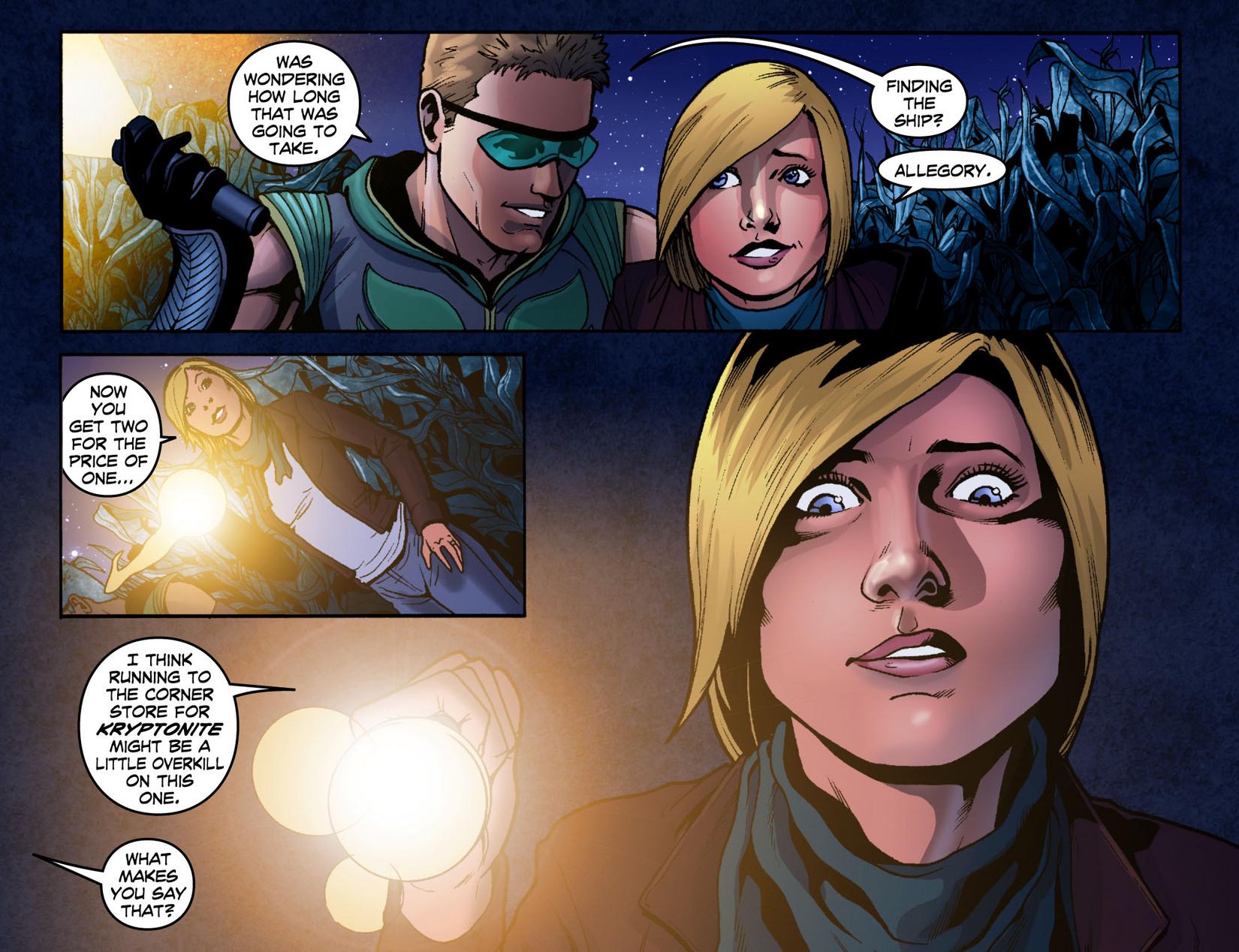 Read online Smallville: Season 11 comic -  Issue #7 - 7