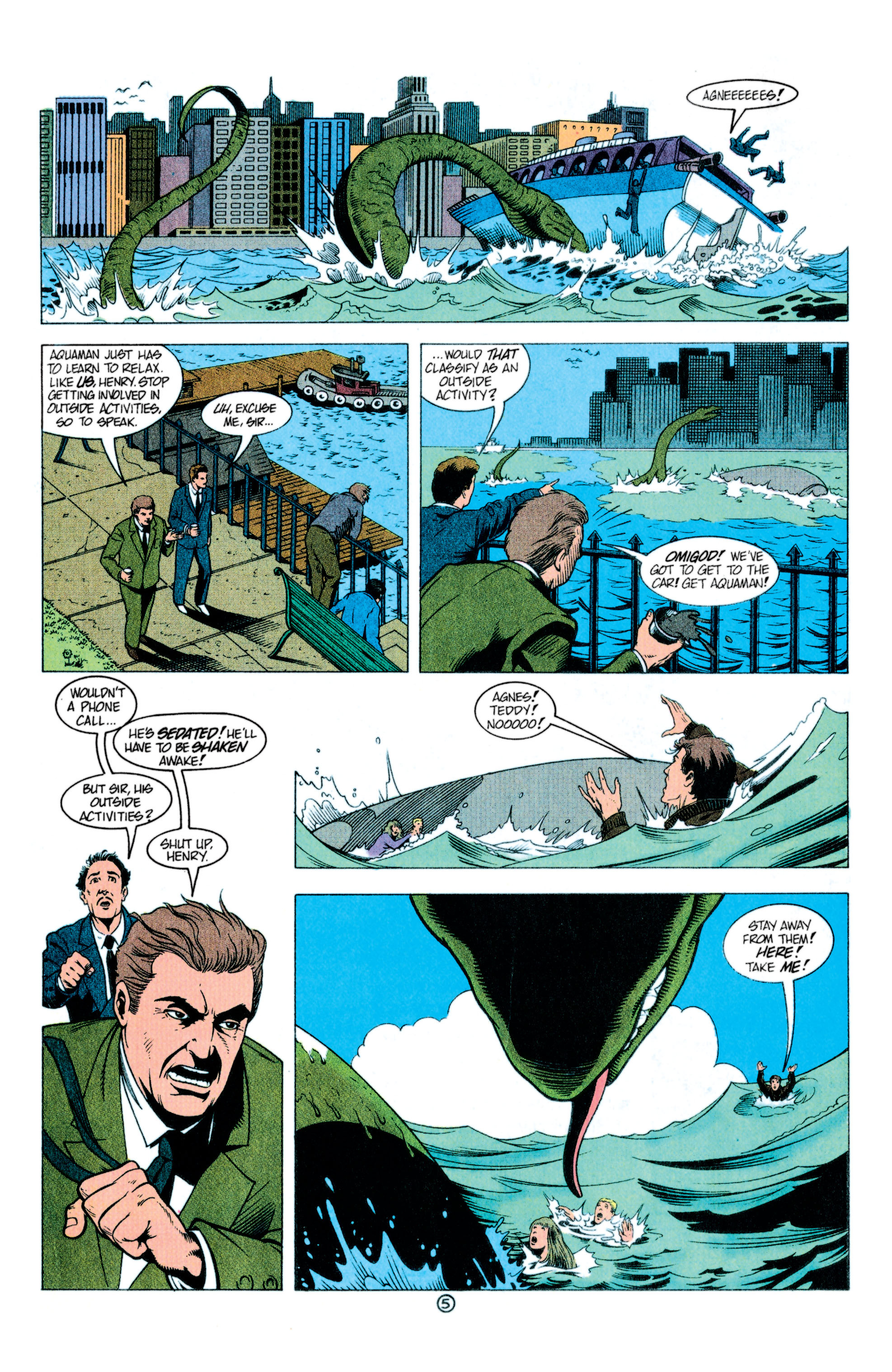 Read online Aquaman (1991) comic -  Issue #11 - 6