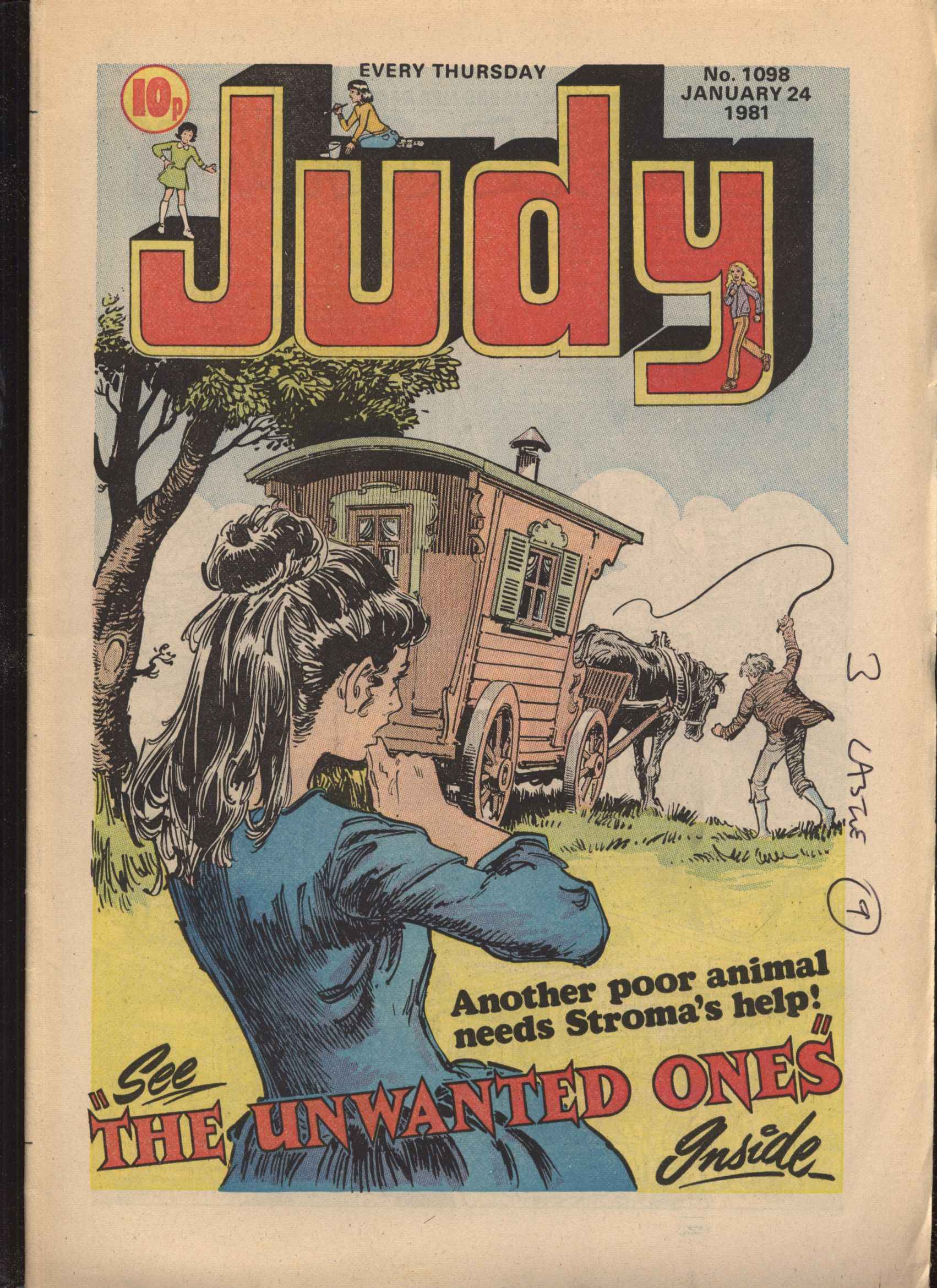 Read online Judy comic -  Issue #98 - 1