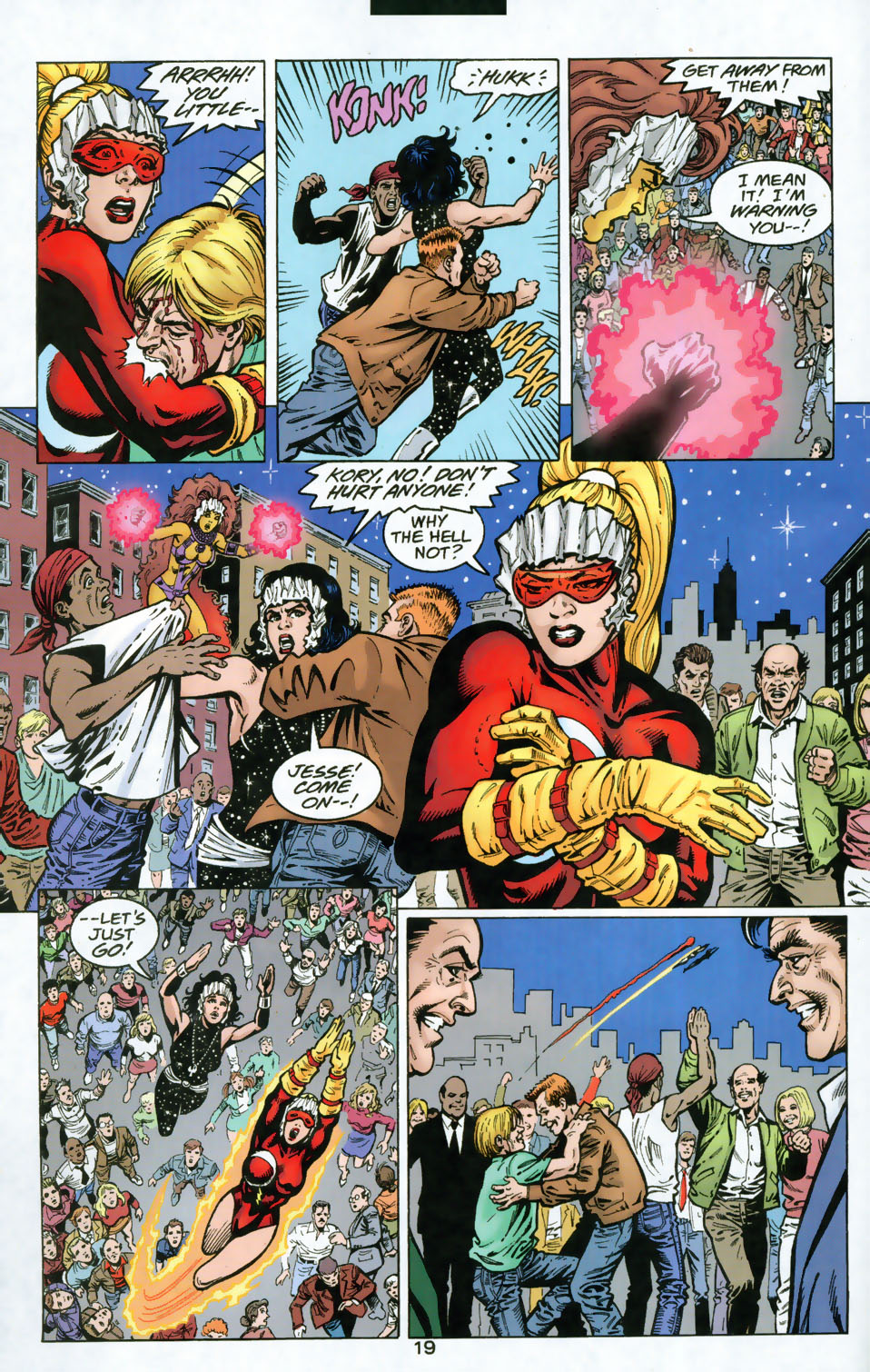 Read online The Titans (1999) comic -  Issue #49 - 20