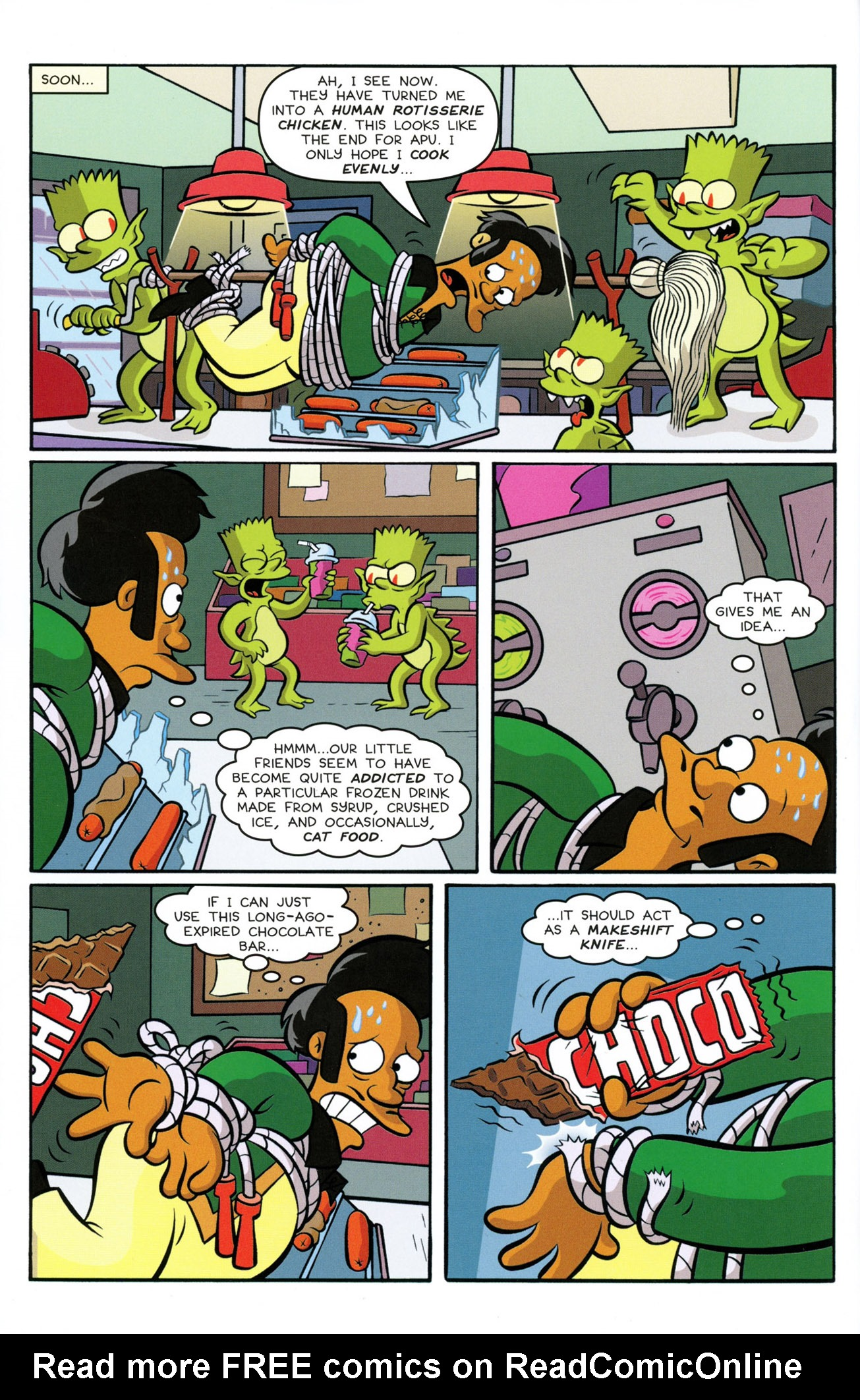 Read online Treehouse of Horror comic -  Issue #21 - 10