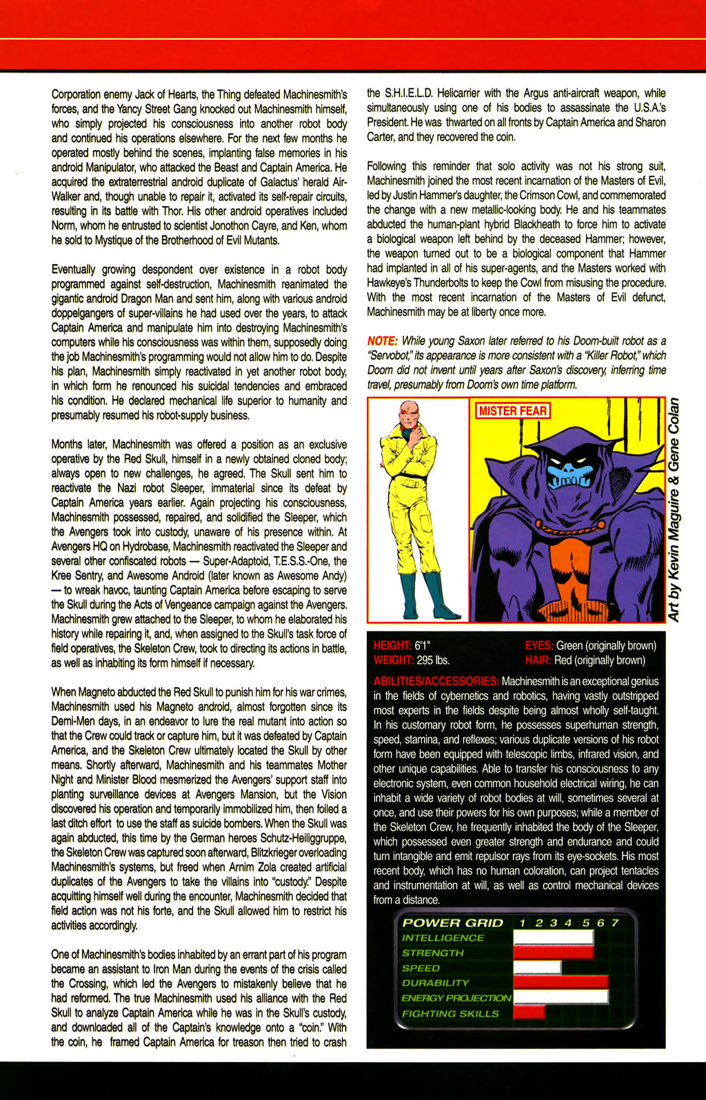 Read online All-New Official Handbook of the Marvel Universe A to Z comic -  Issue #6 - 48