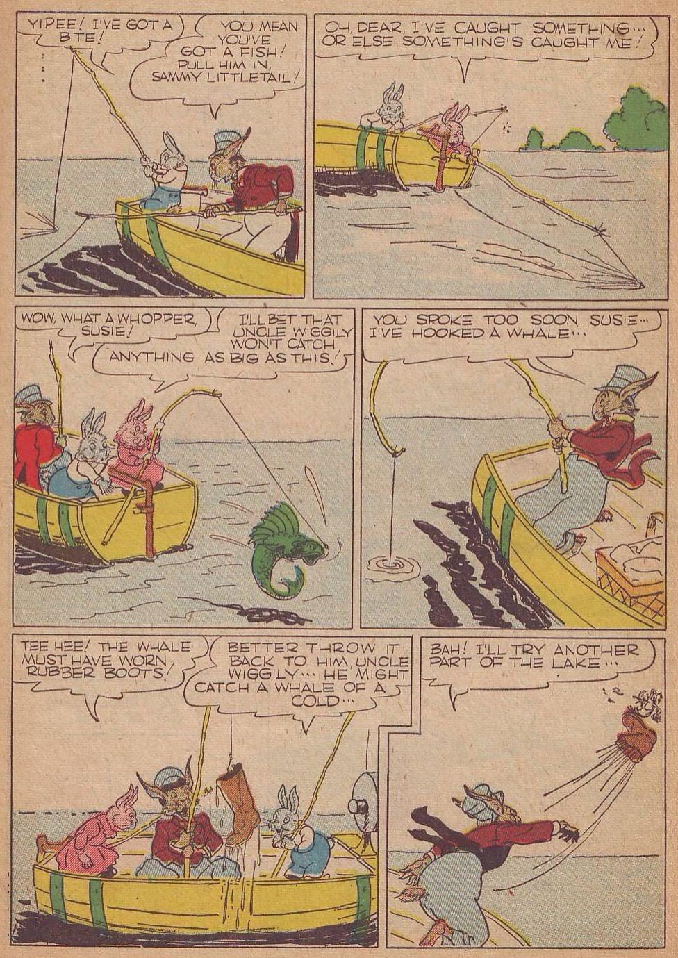 Read online Animal Comics comic -  Issue #8 - 5