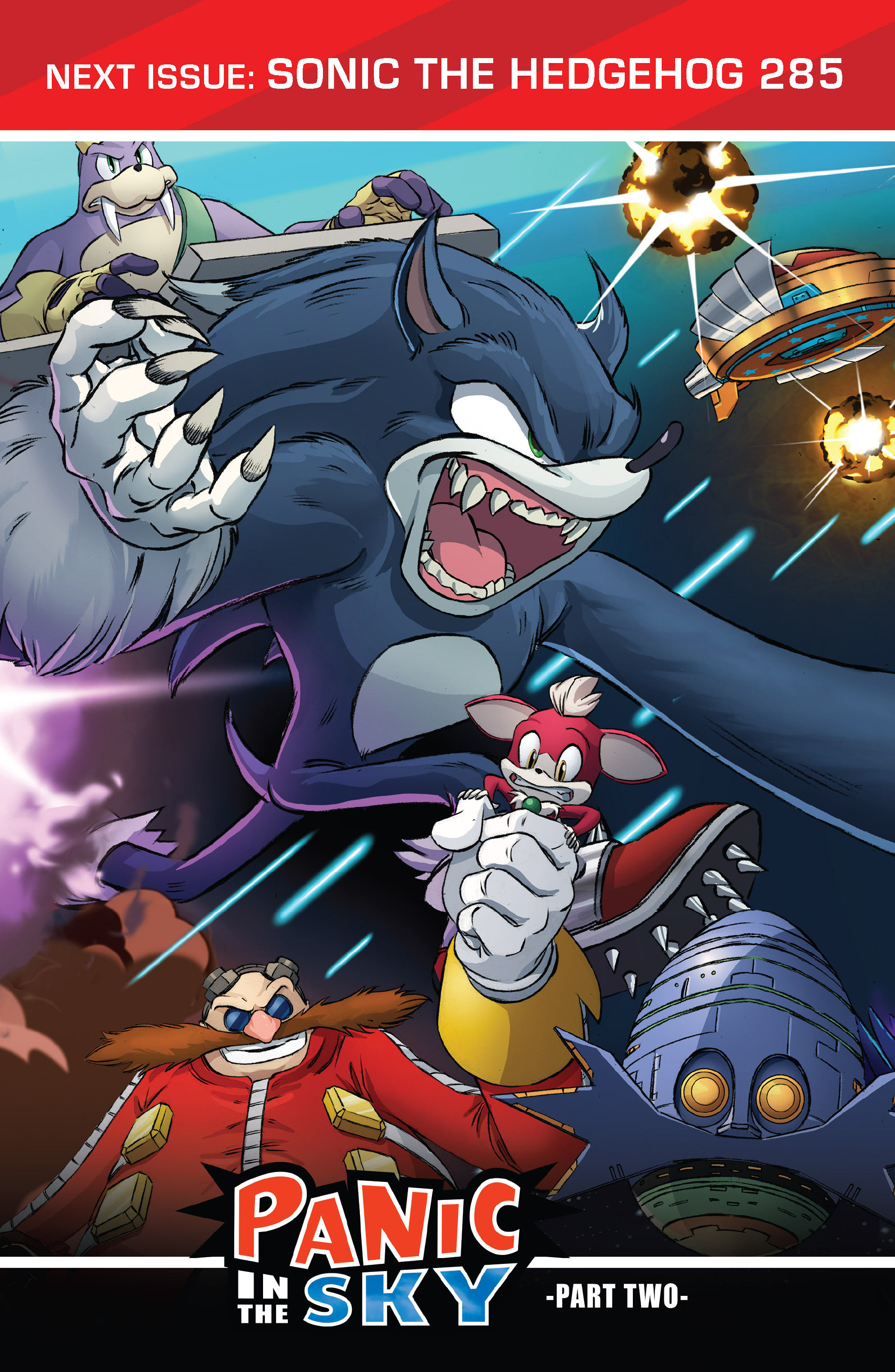 Read online Sonic The Hedgehog comic -  Issue #284 - 25