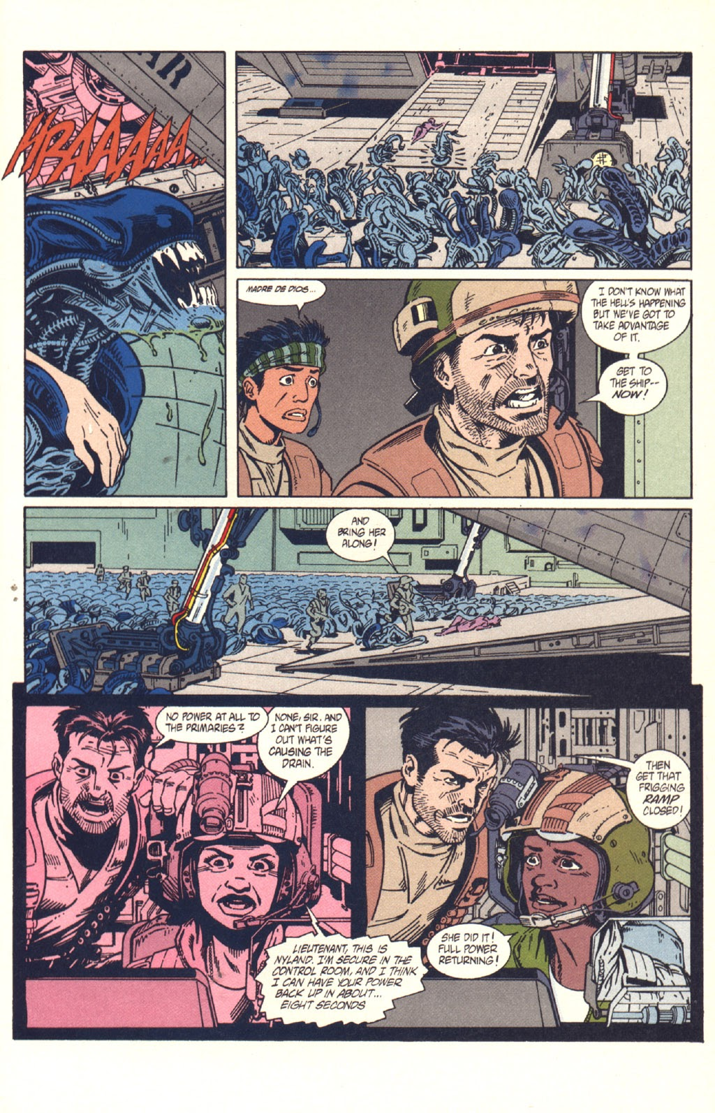 Read online Aliens: Colonial Marines comic -  Issue #9 - 22